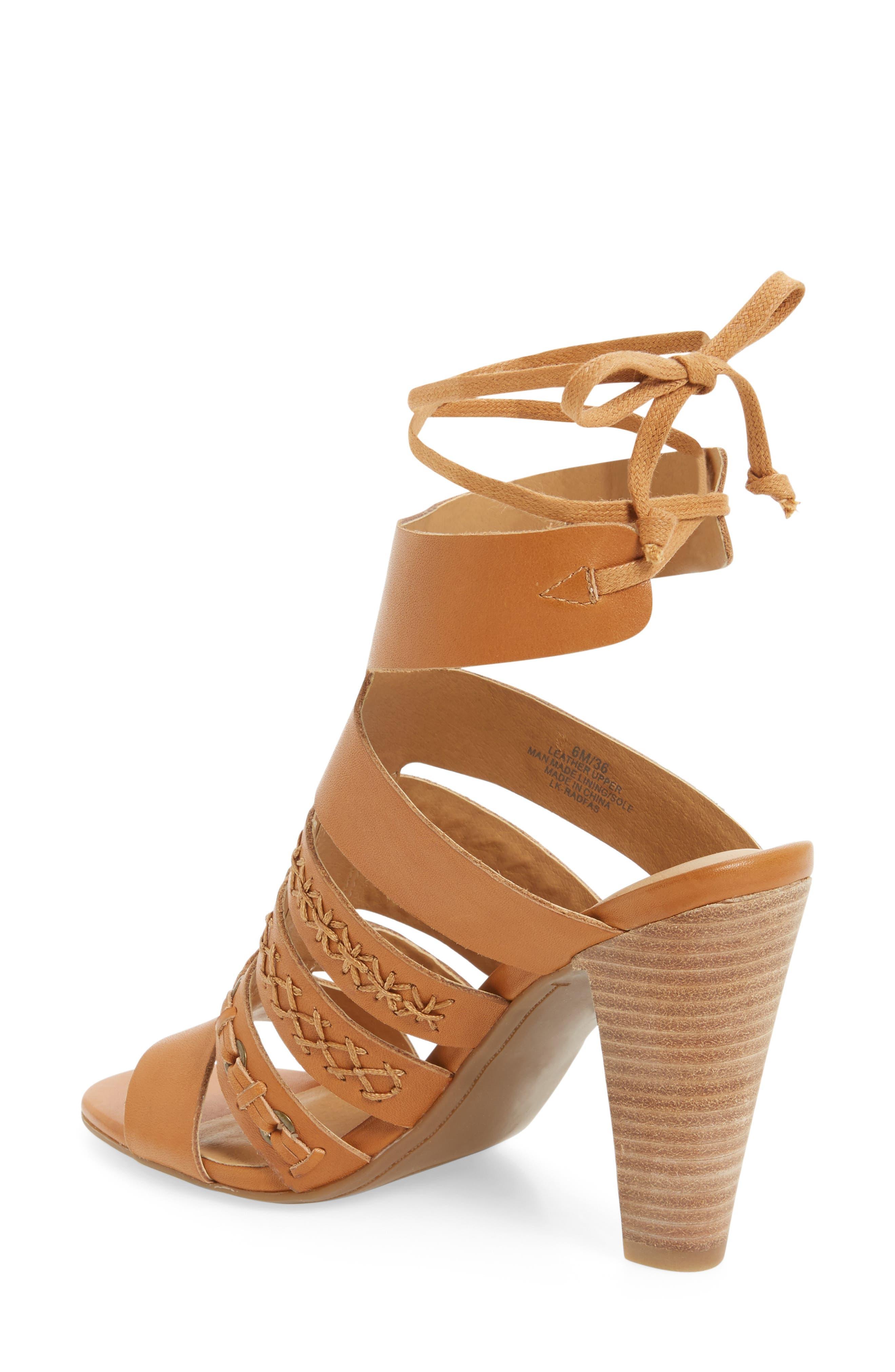 Alternate Image 2  - Lucky Brand Radfas Lace-Up Sandal (Women)