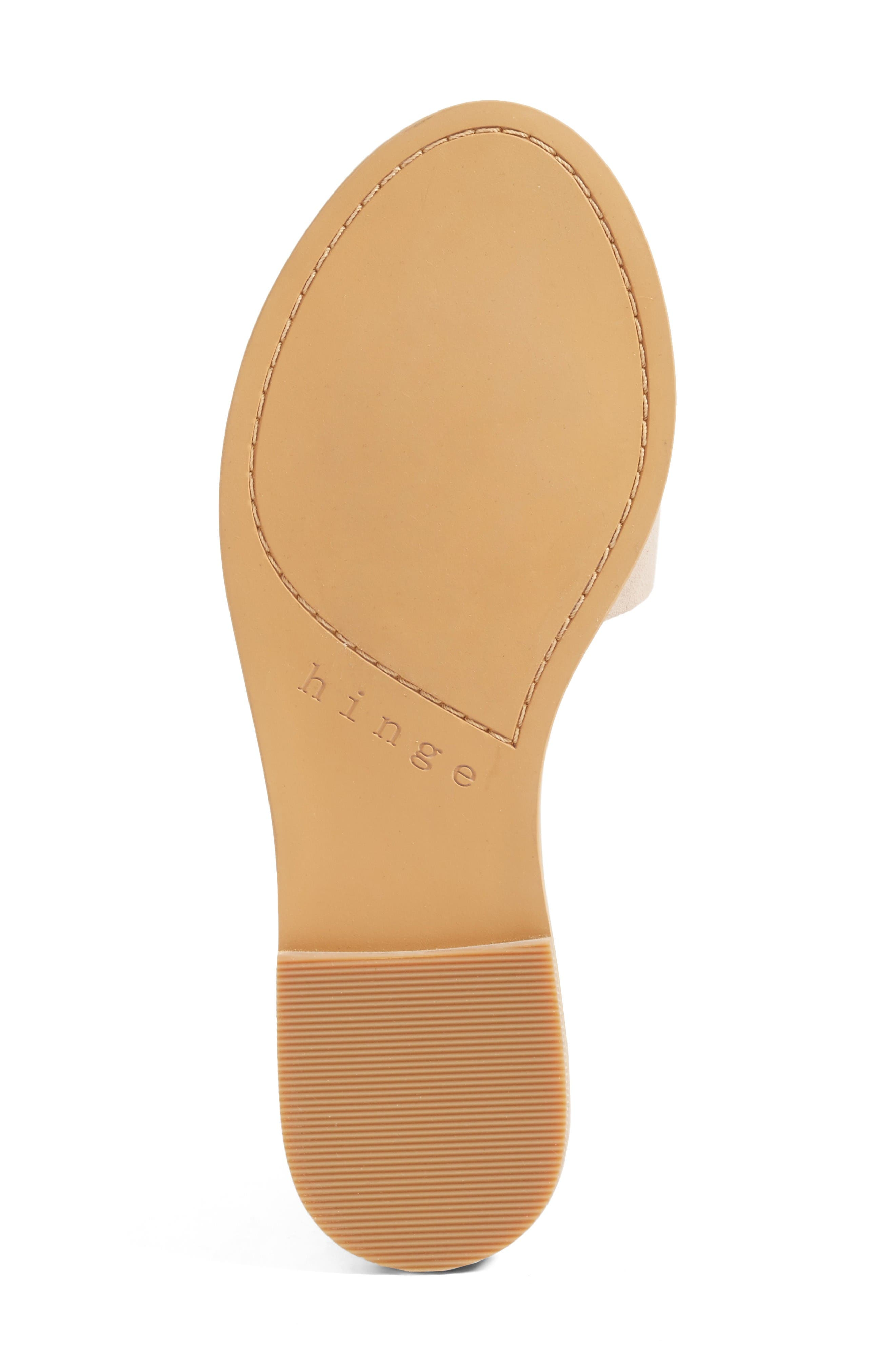 Alternate Image 4  - Hinge 'Mere' Flat Slide Sandal (Women)