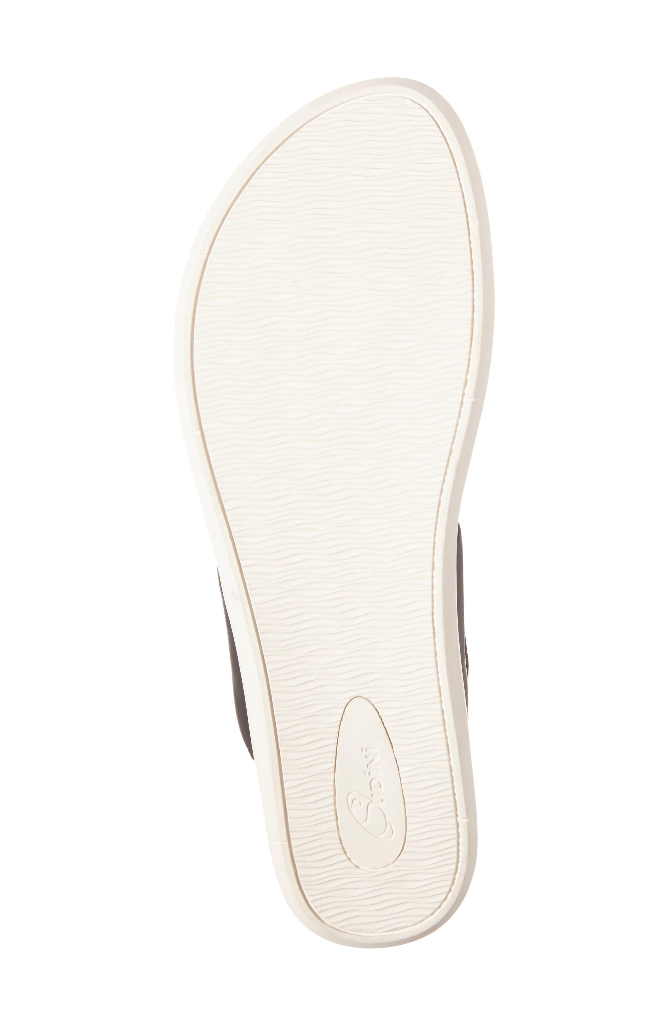 Alternate Image 4  - Sudini Sally Perforated Flip Flop (Women)