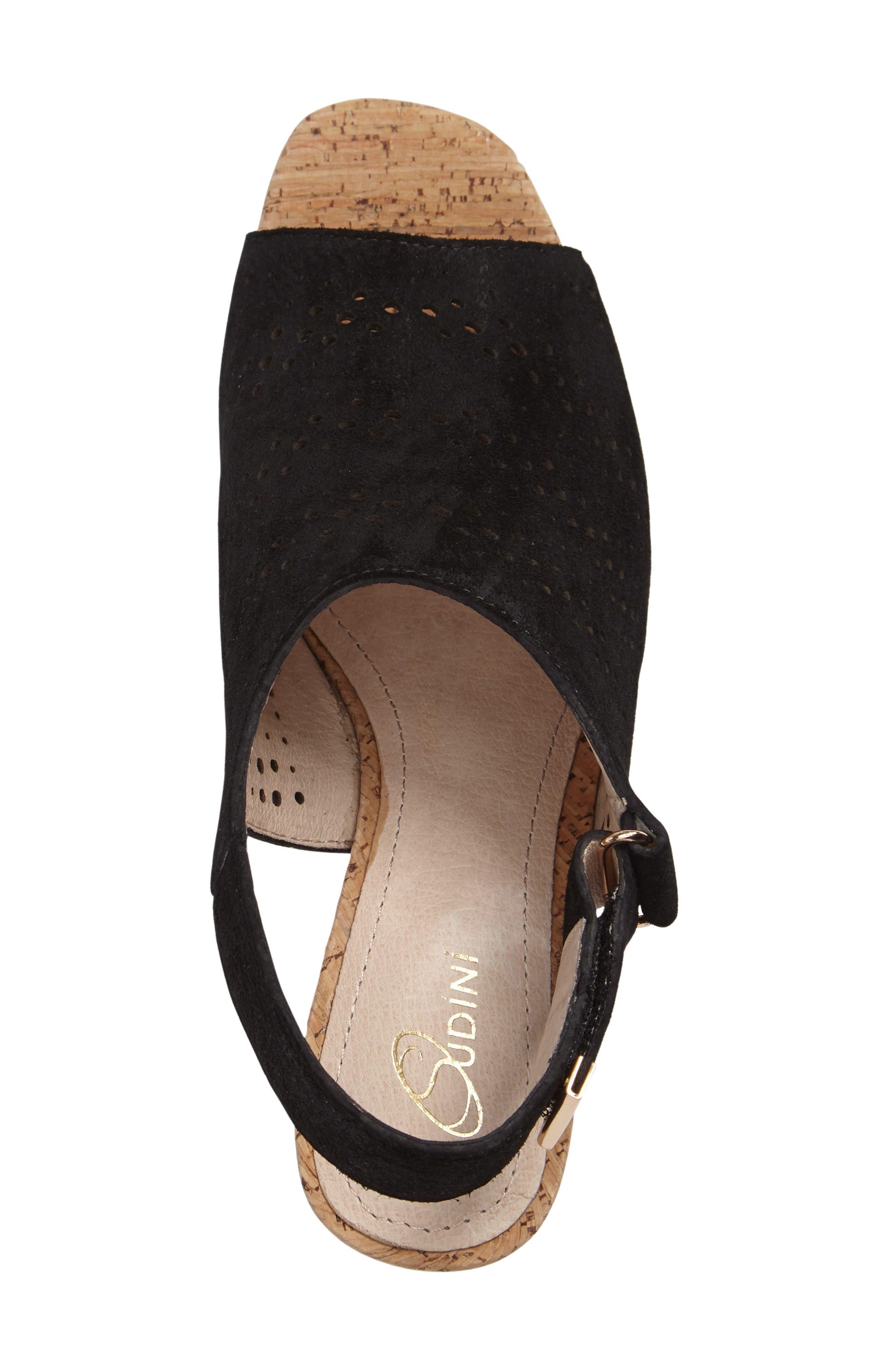 Alternate Image 3  - Sudini Nancy Perforated Sandal (Women)