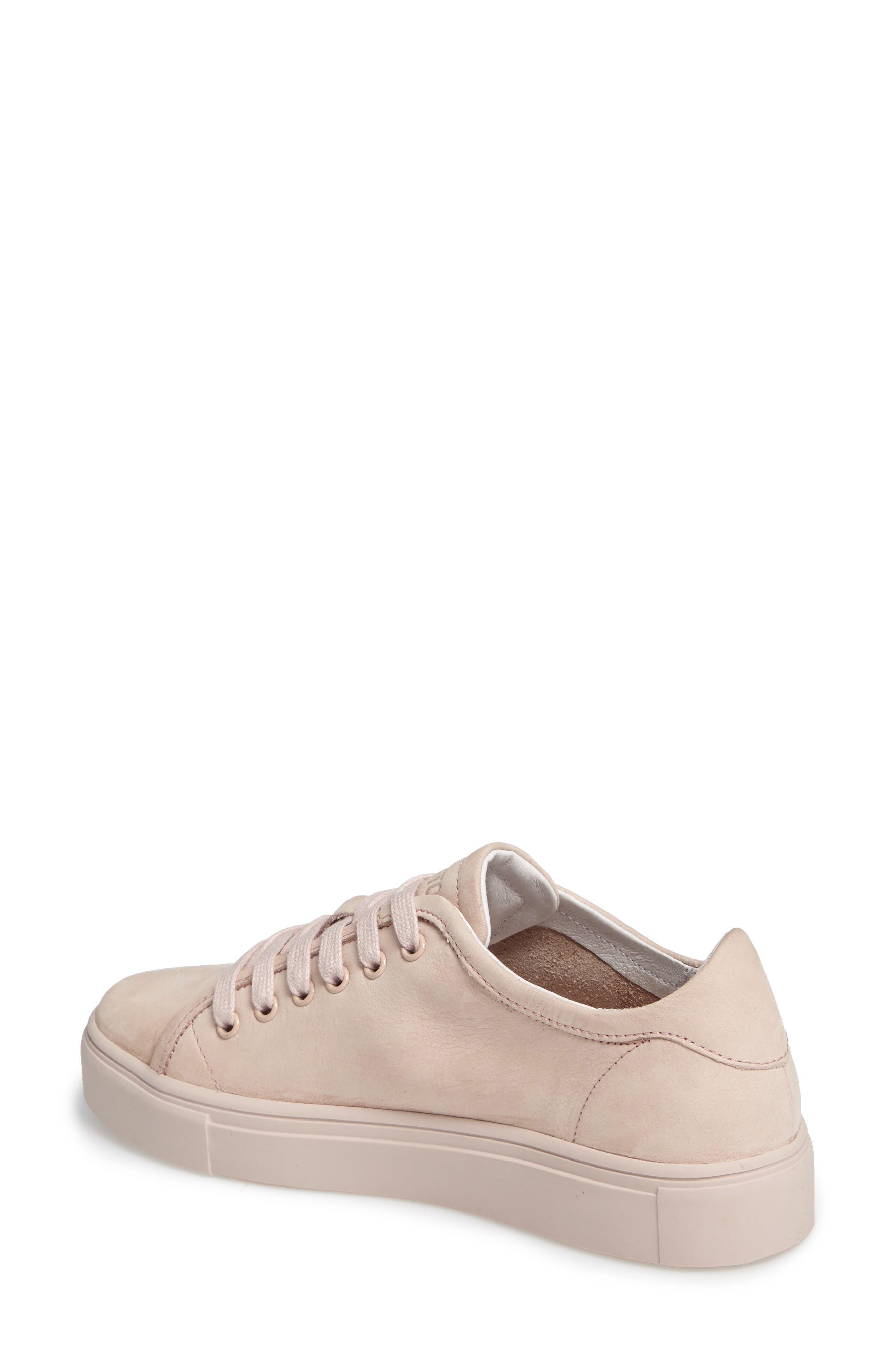NL33 Sneaker,                             Alternate thumbnail 2, color,                             Dusty Rose Nubuck