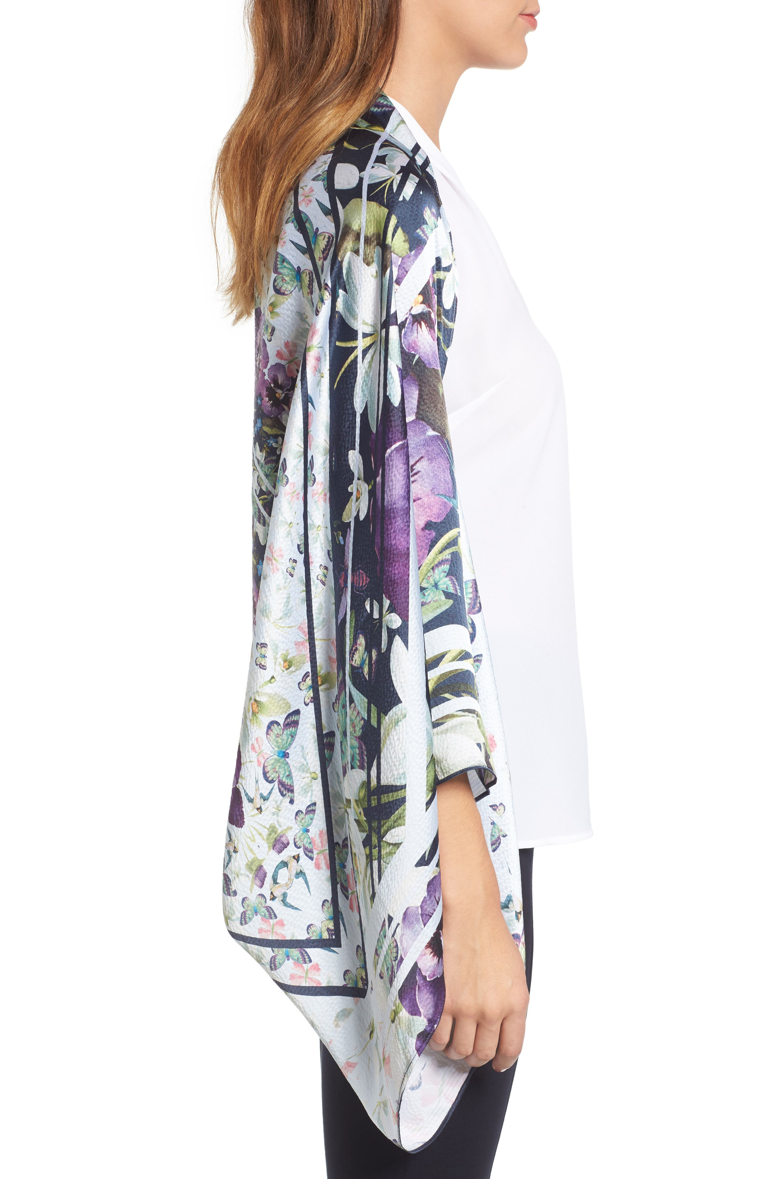 Alternate Image 3  - Ted Baker London Elva Enchantment Cape Scarf