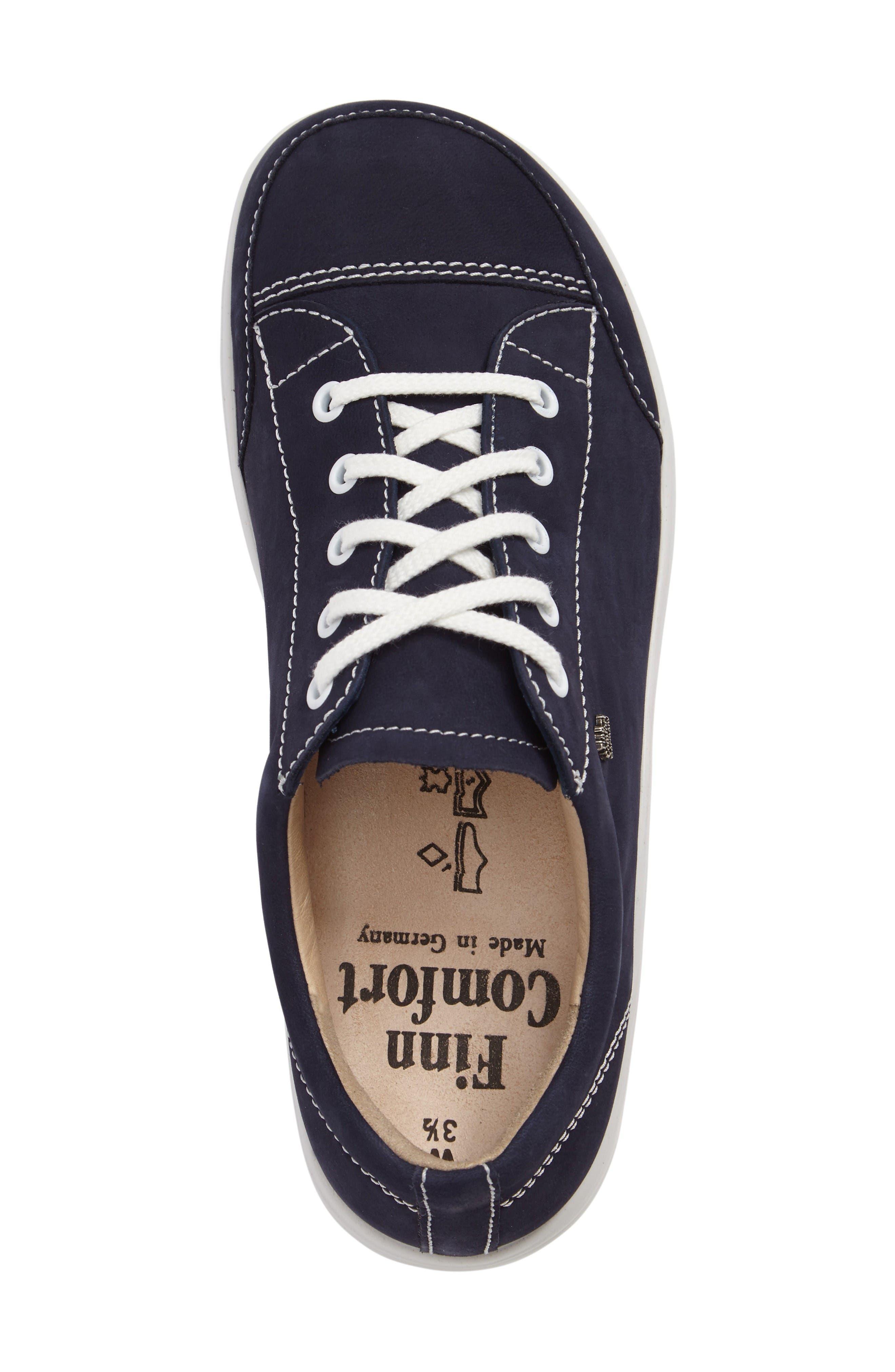 FINNAMIC by Finn Comfort 'Ikebukuro' Walking Shoe,                             Alternate thumbnail 5, color,                             Atlantic Leather