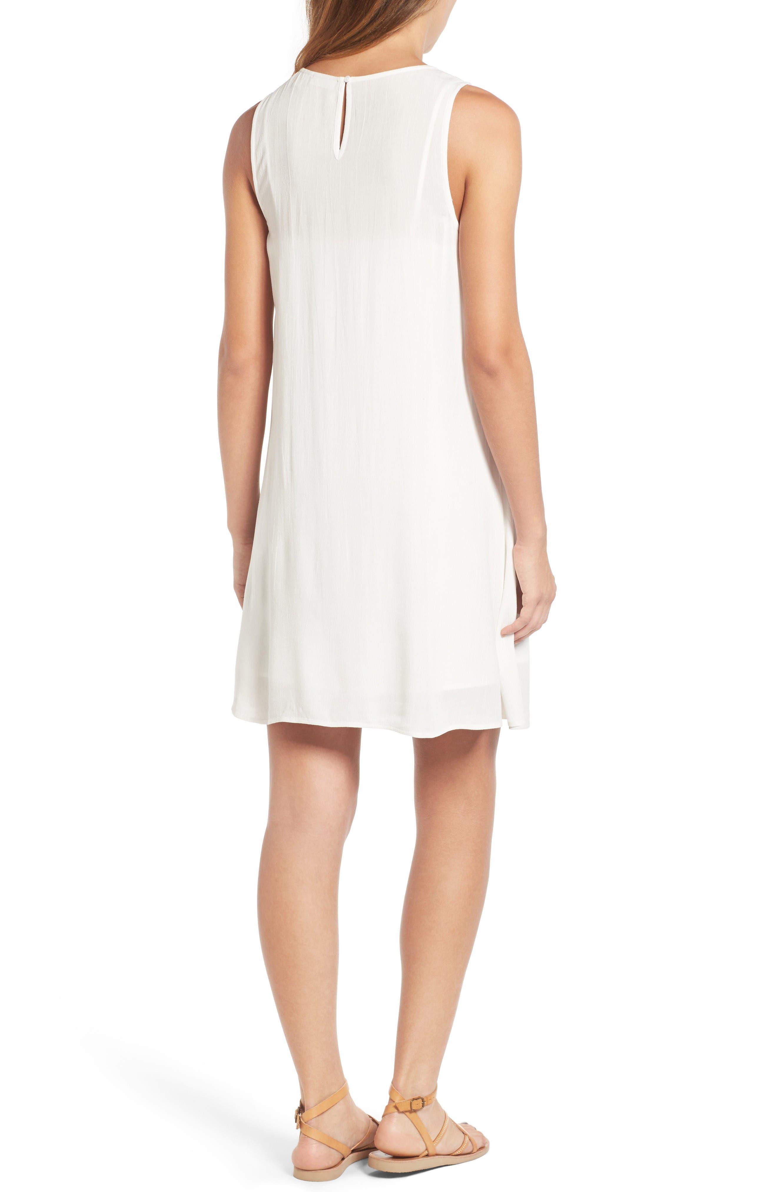 Alternate Image 2  - Hinge Lace Shift Dress