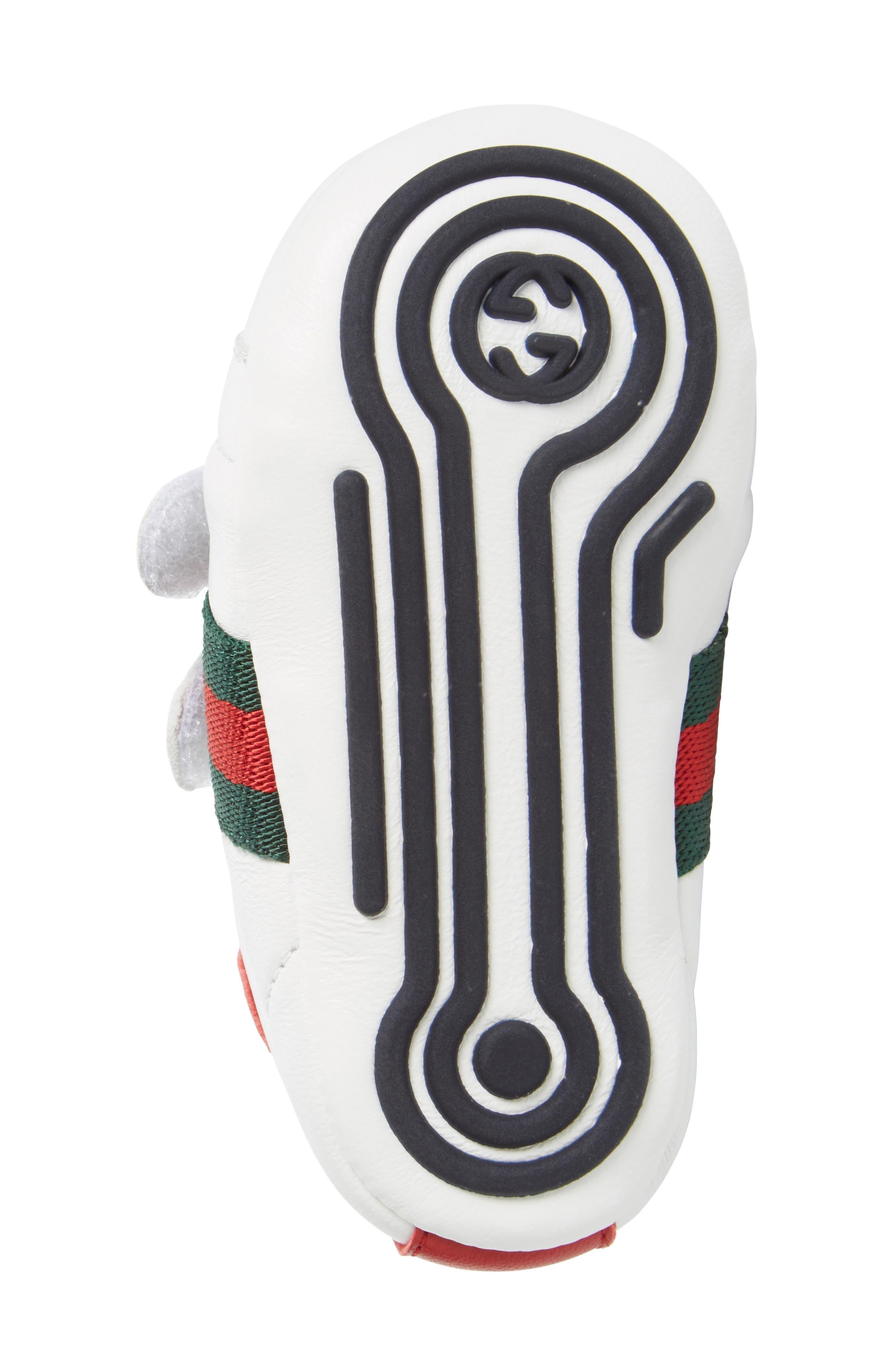 Alternate Image 6  - Gucci 'Ace' Crib Shoe (Baby)