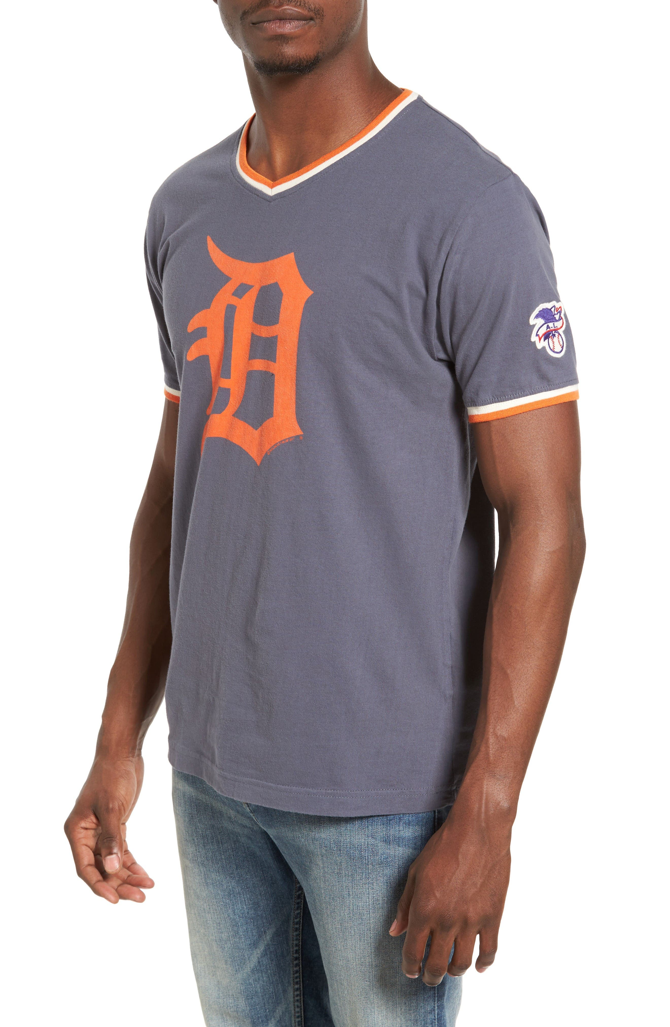 Eastwood Detroit Tigers T-Shirt,                         Main,                         color, Navy