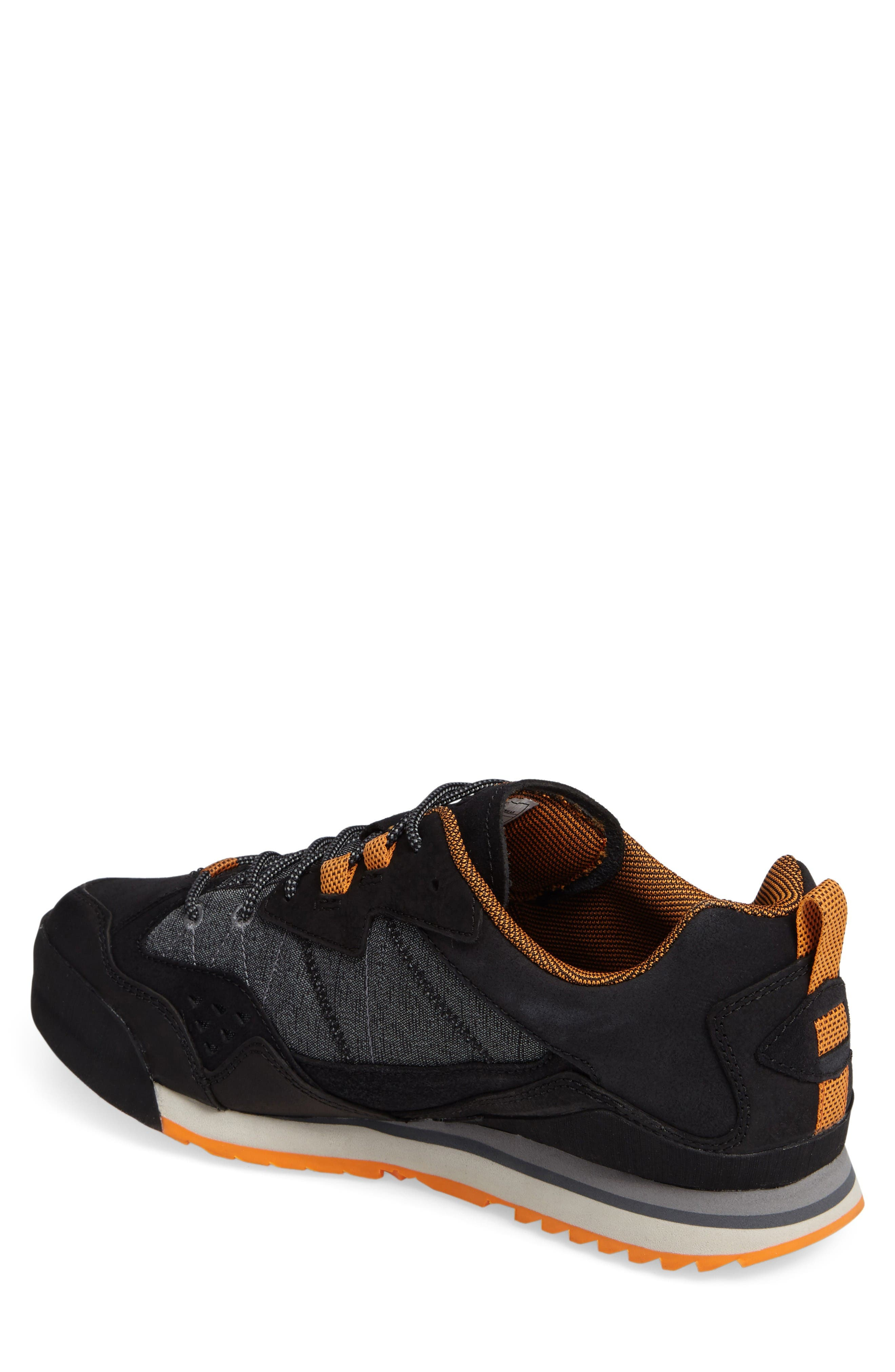 Burnt Rock Sneaker,                             Alternate thumbnail 2, color,                             Black
