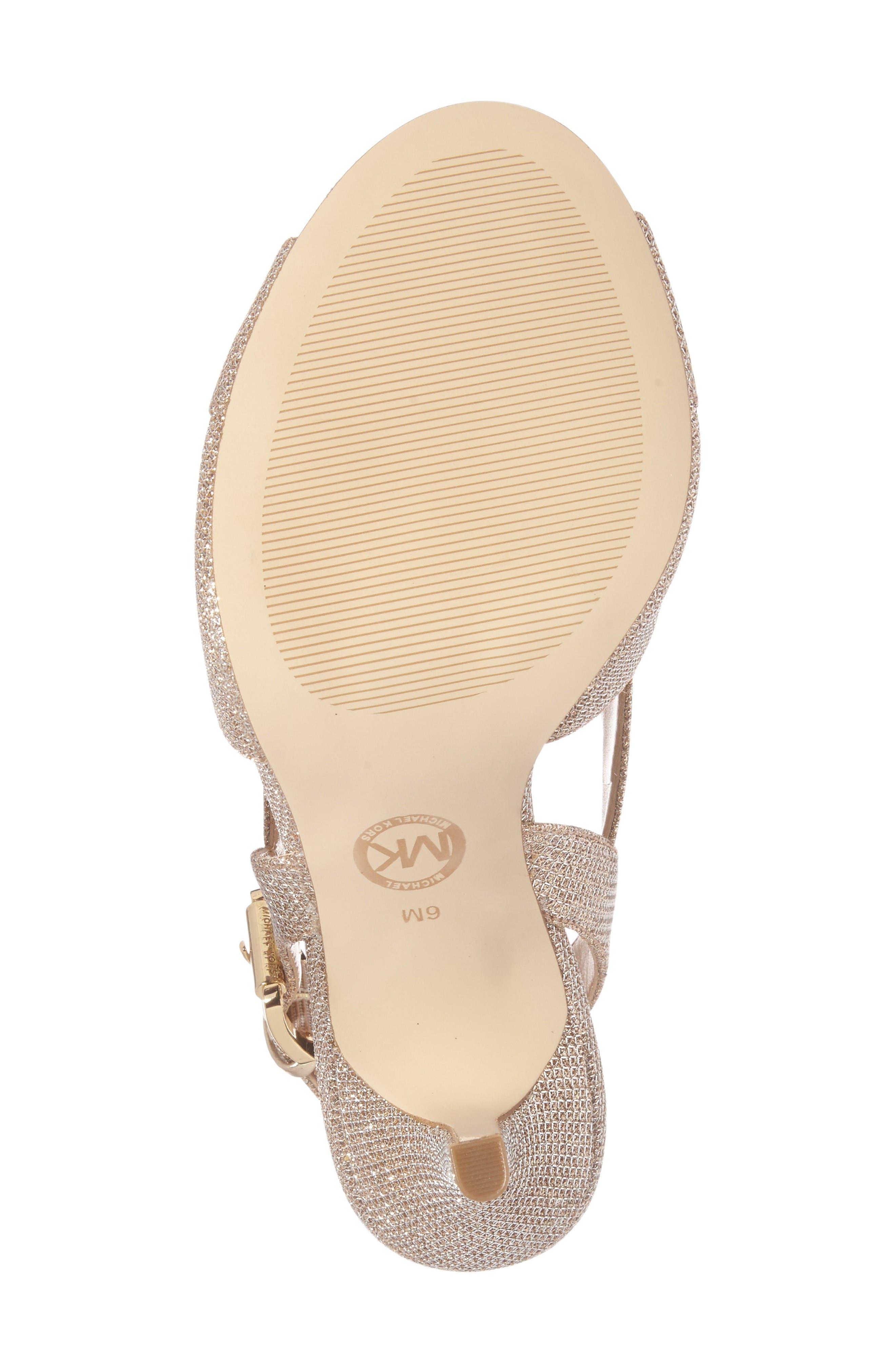 Alternate Image 6  - MICHAEL Michael Kors Becky Cross Strap Sandal (Women)