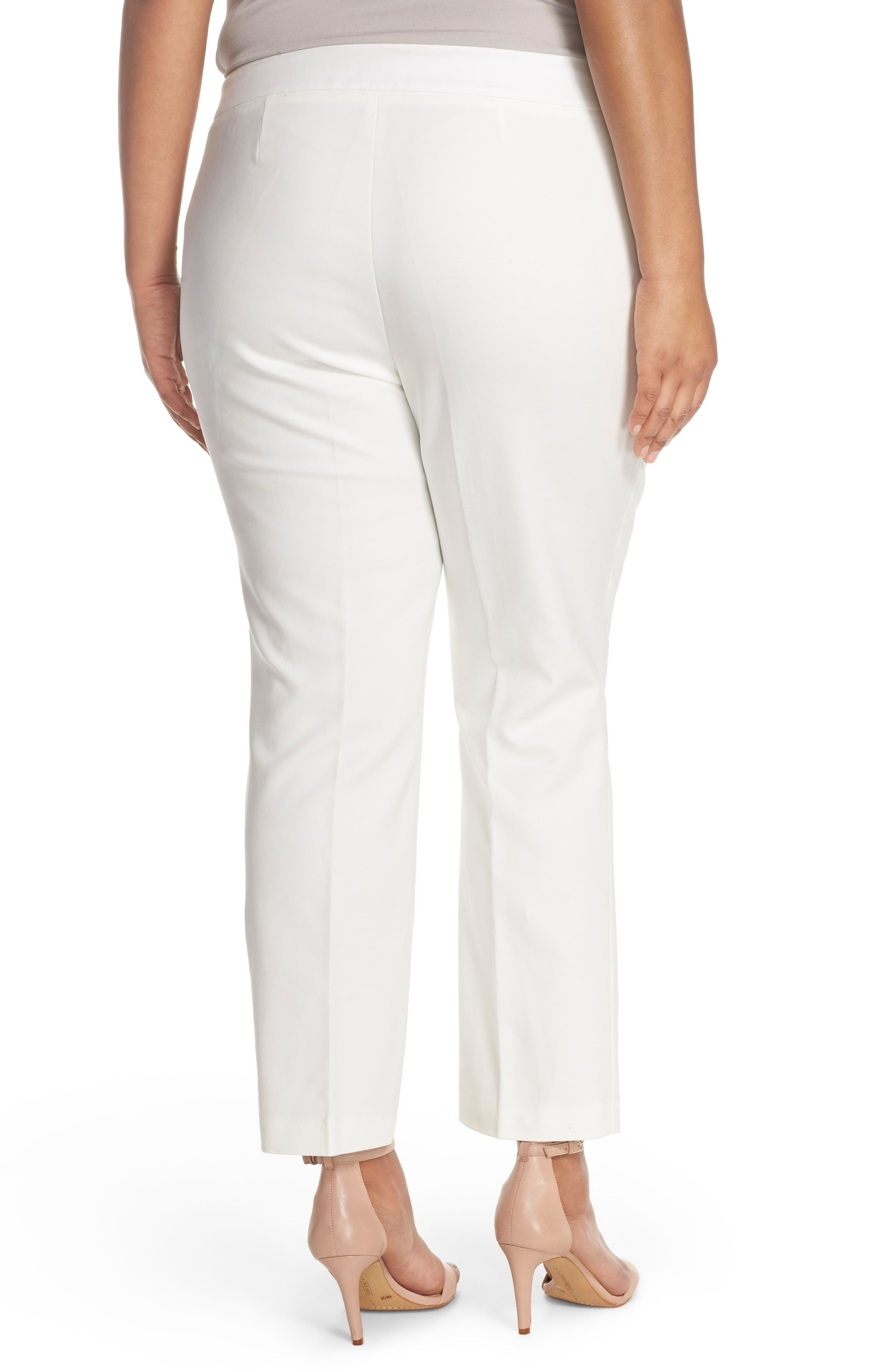 Wide Leg Trousers,                             Alternate thumbnail 2, color,                             New Ivory