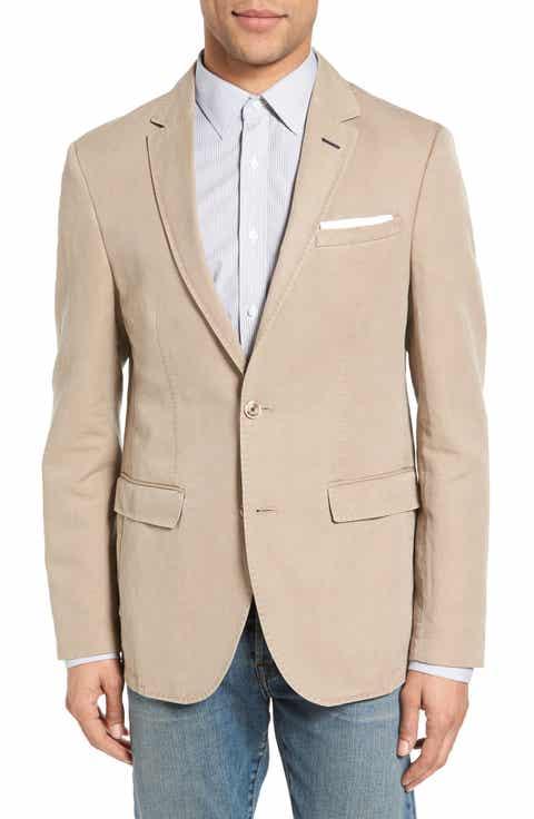 Men's Beige Linen Suits & Sport Coats | Nordstrom | Nordstrom