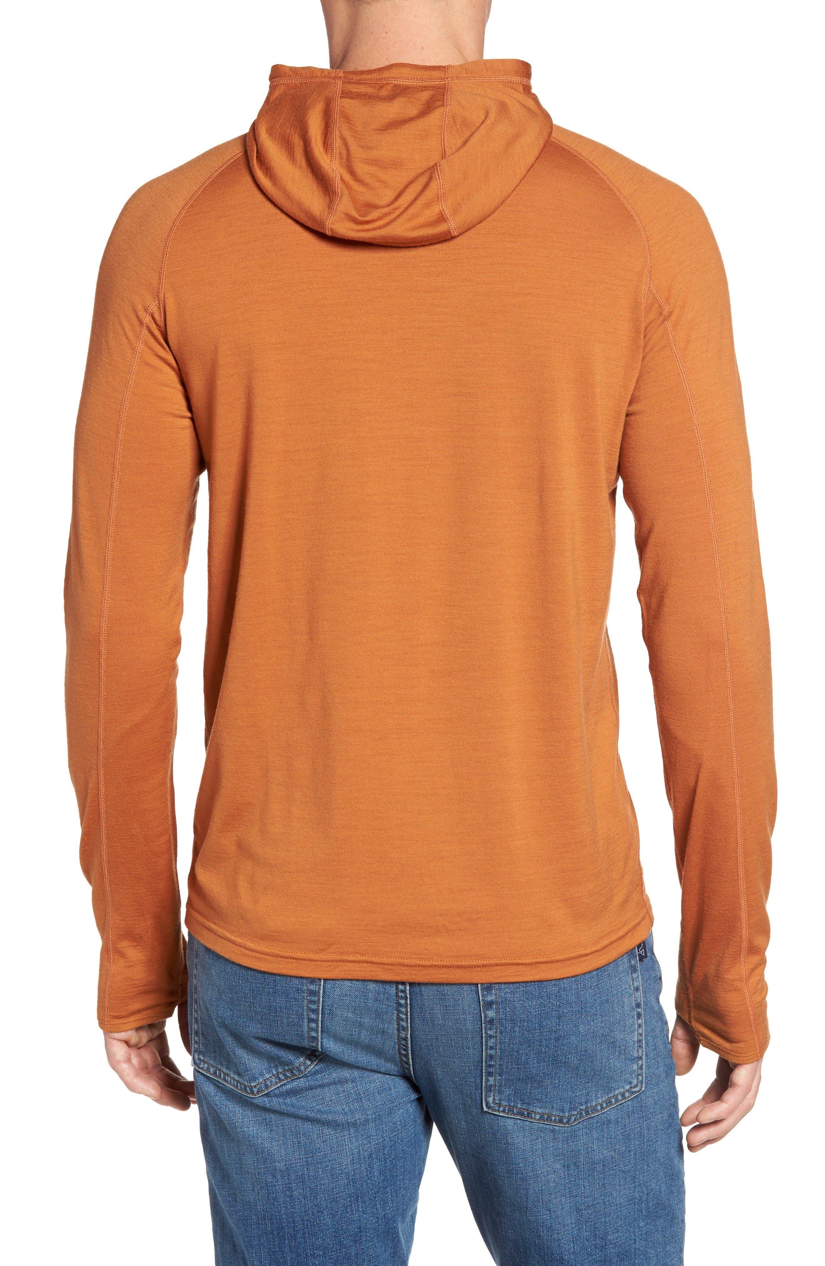 Alternate Image 2  - ibex 'Indie' Merino Wool Half Zip Hoodie