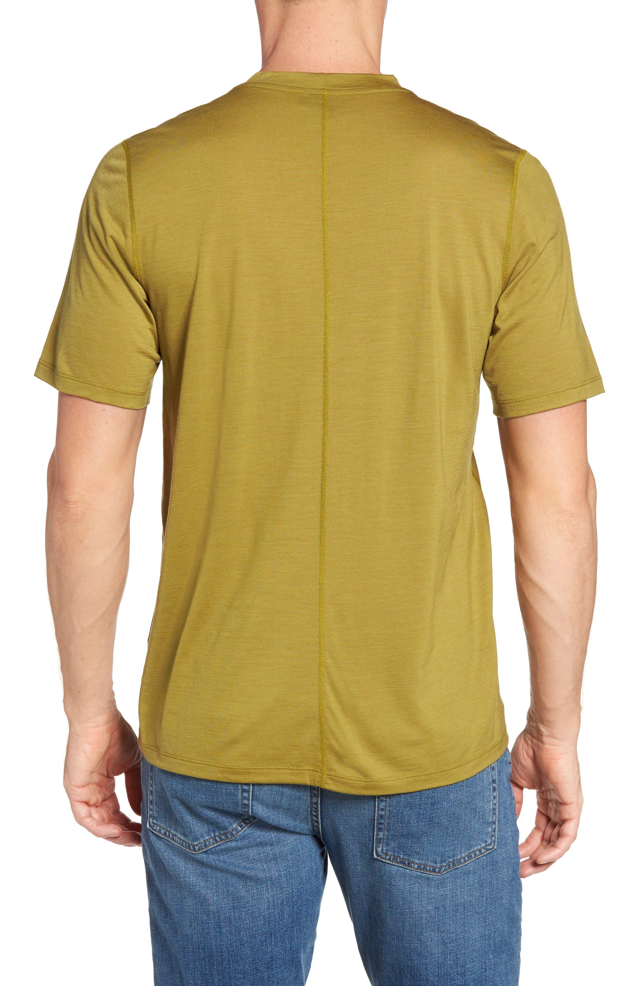 Alternate Image 2  - ibex 'All Day Weightless Wool Blend' T-Shirt