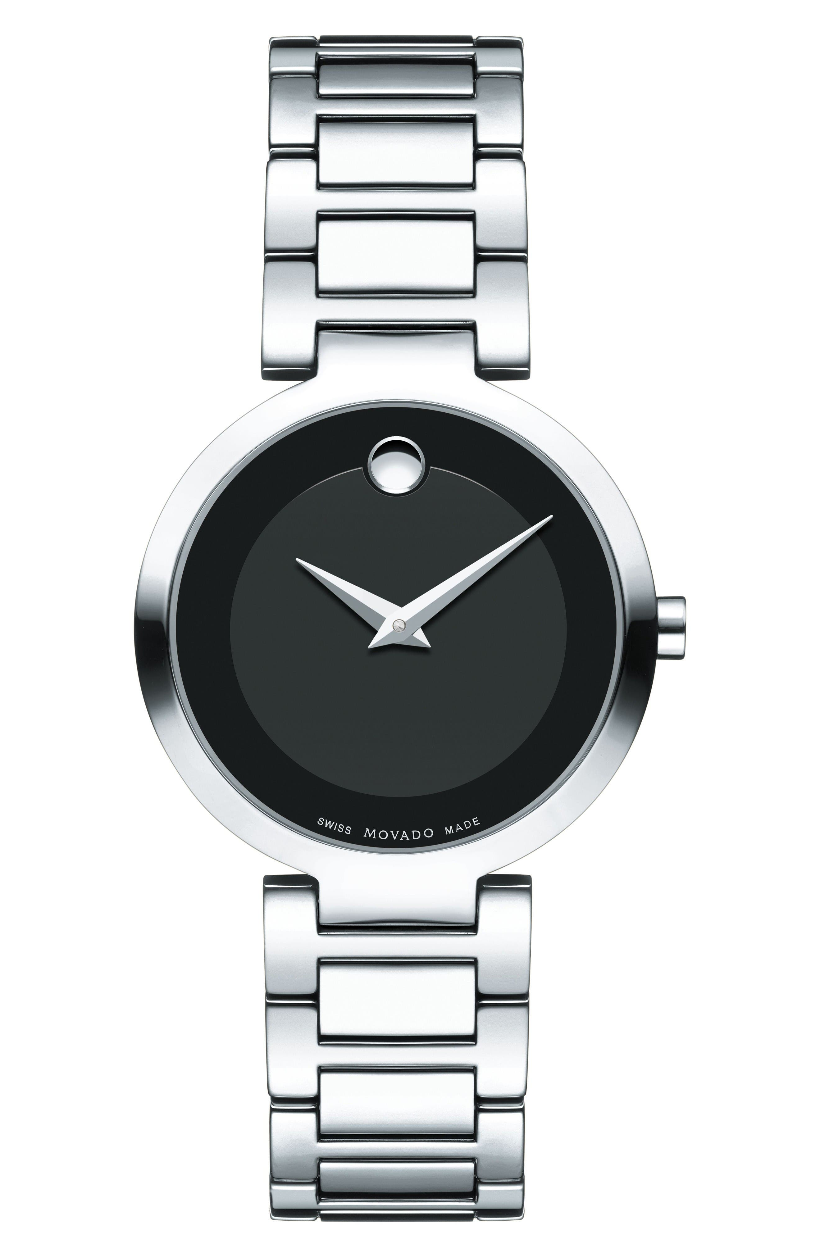 Alternate Image 1 Selected - Movado Modern Classic Bracelet Watch, 28mm