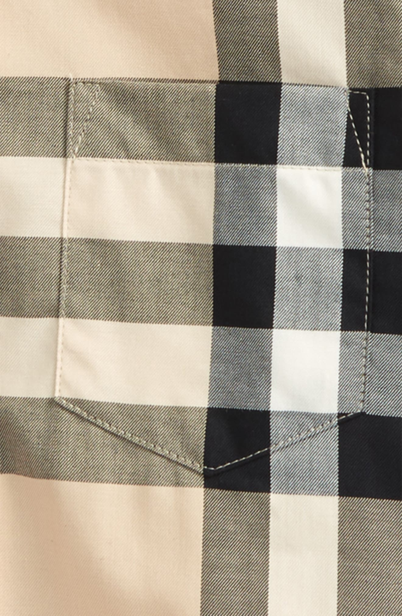 Alternate Image 2  - Burberry Fred Check Shirt (Baby Boys & Toddler Boys)