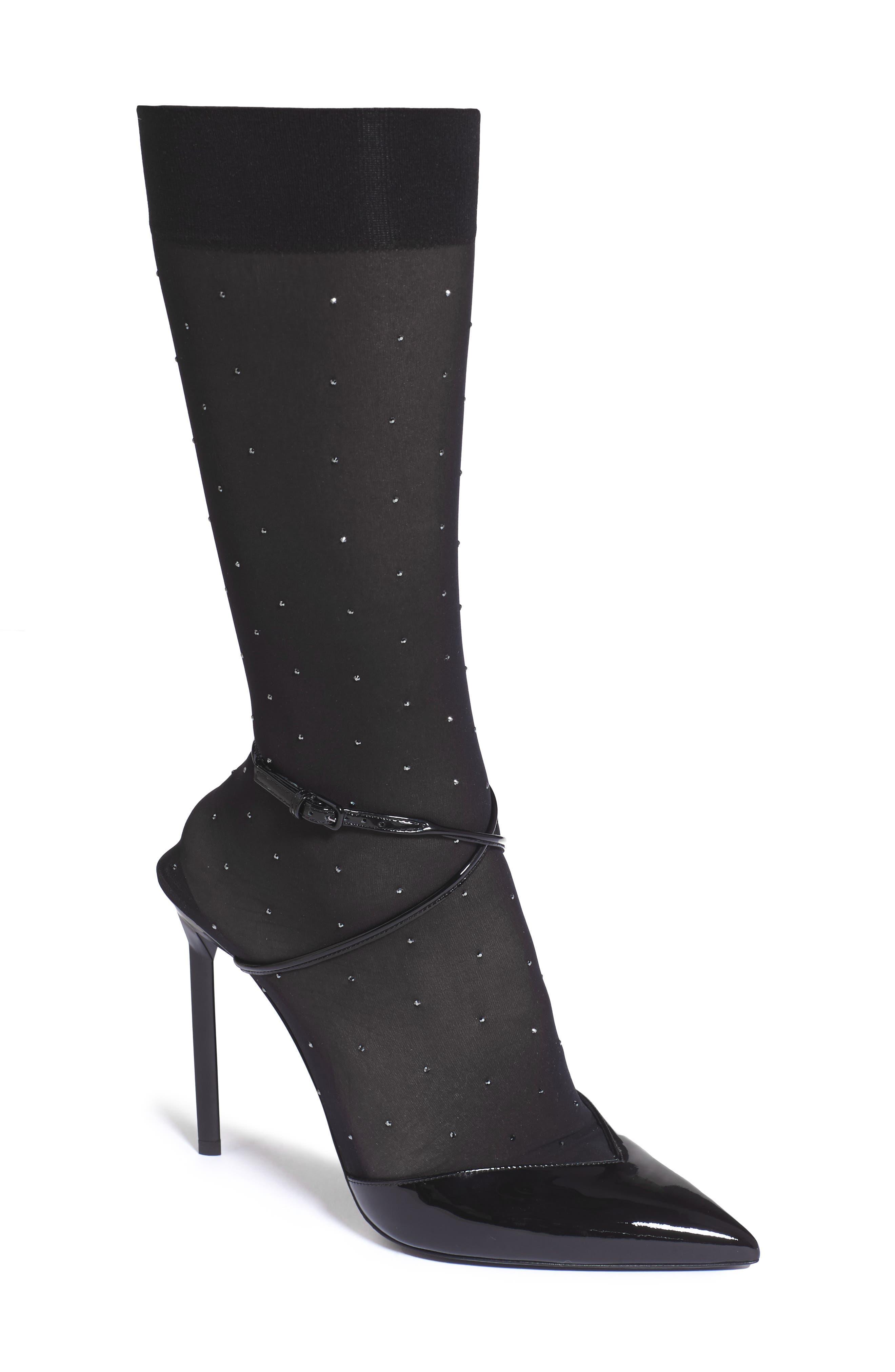 Alternate Image 1 Selected - Saint Laurent Edie Sock Pump (Women)