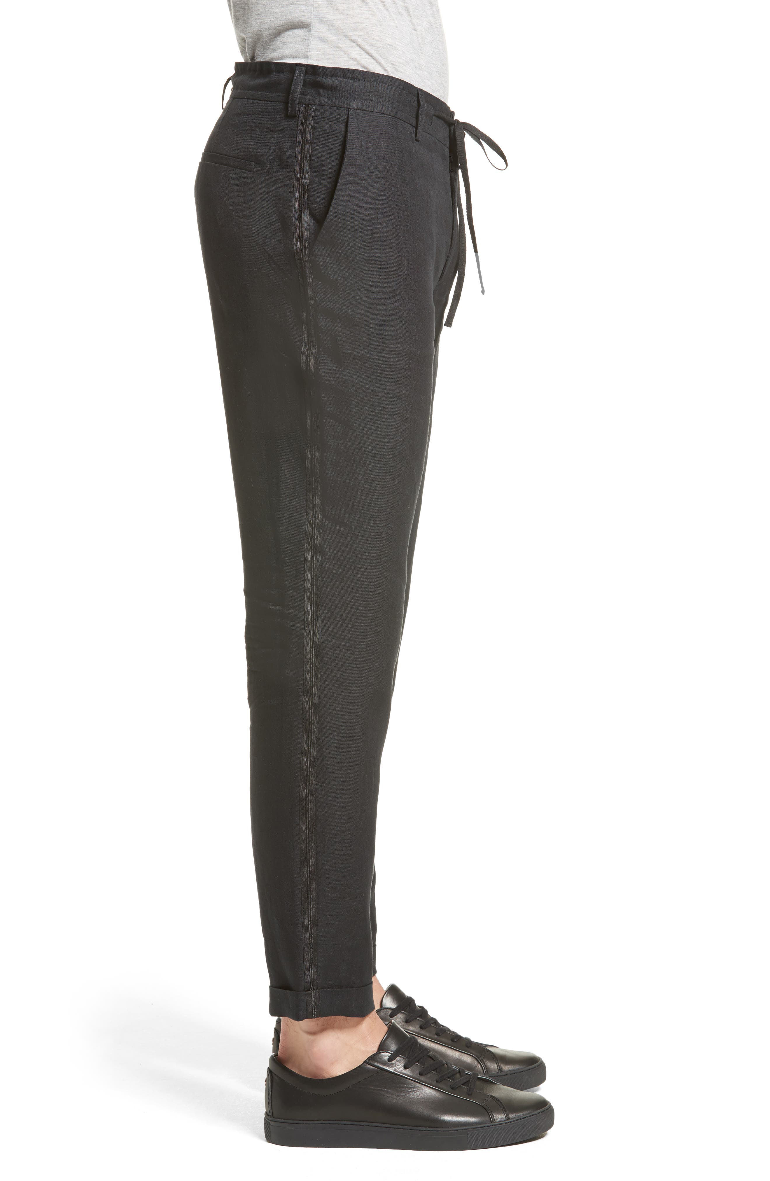 Alternate Image 3  - The Kooples Relaxed Fit Linen Pants