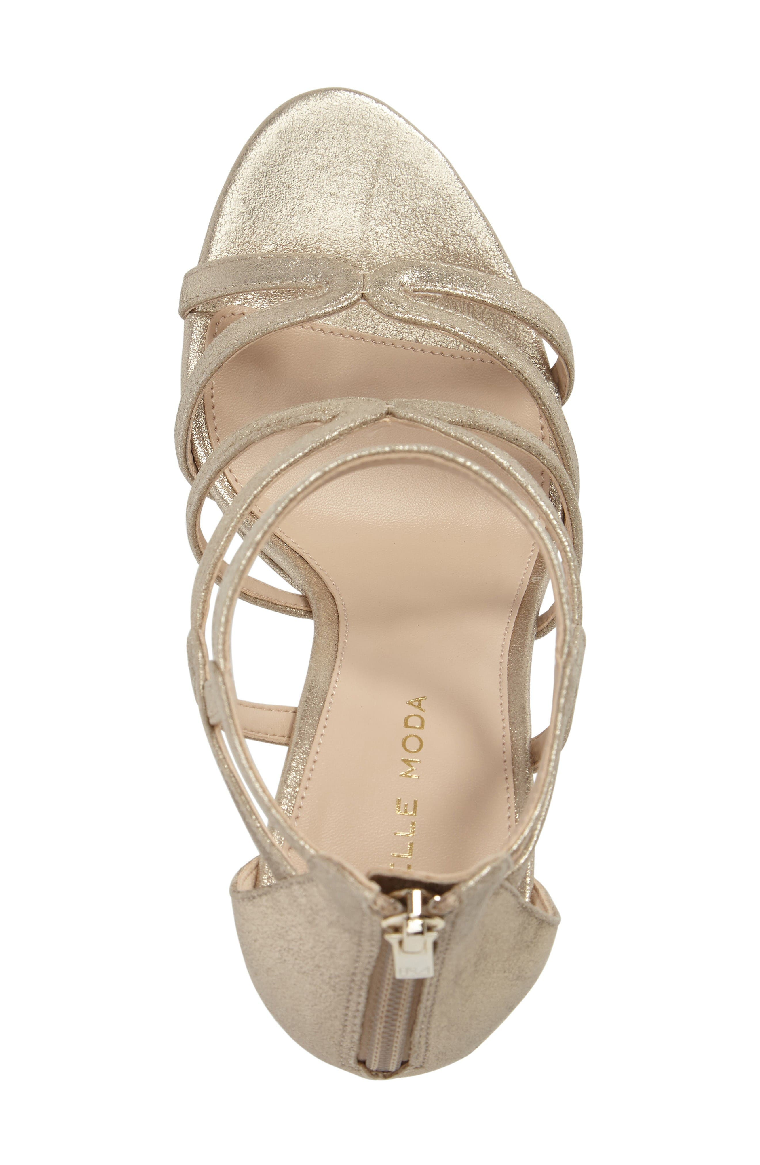 Alternate Image 5  - Pelle Moda Olympic Platform Sandal (Women)
