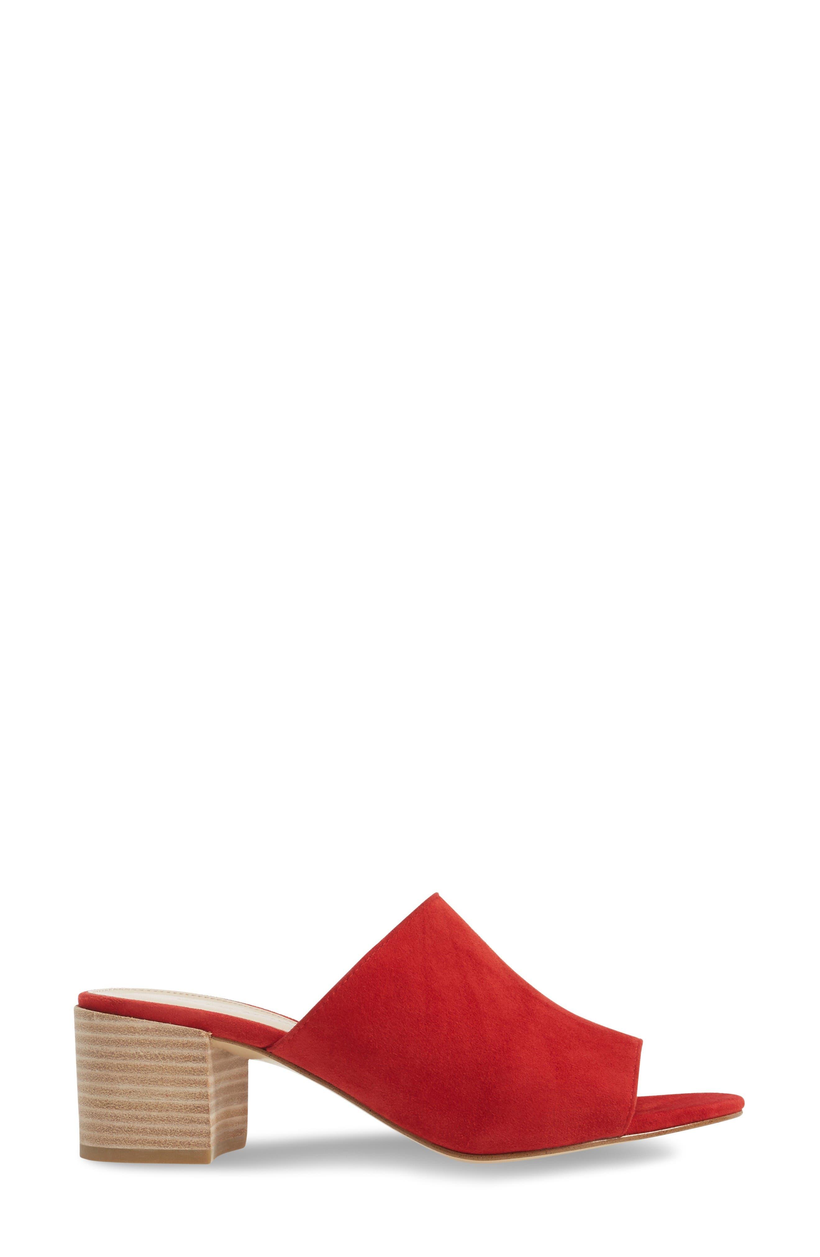 Alternate Image 3  - Pelle Moda Union Block Heel Mule (Women)