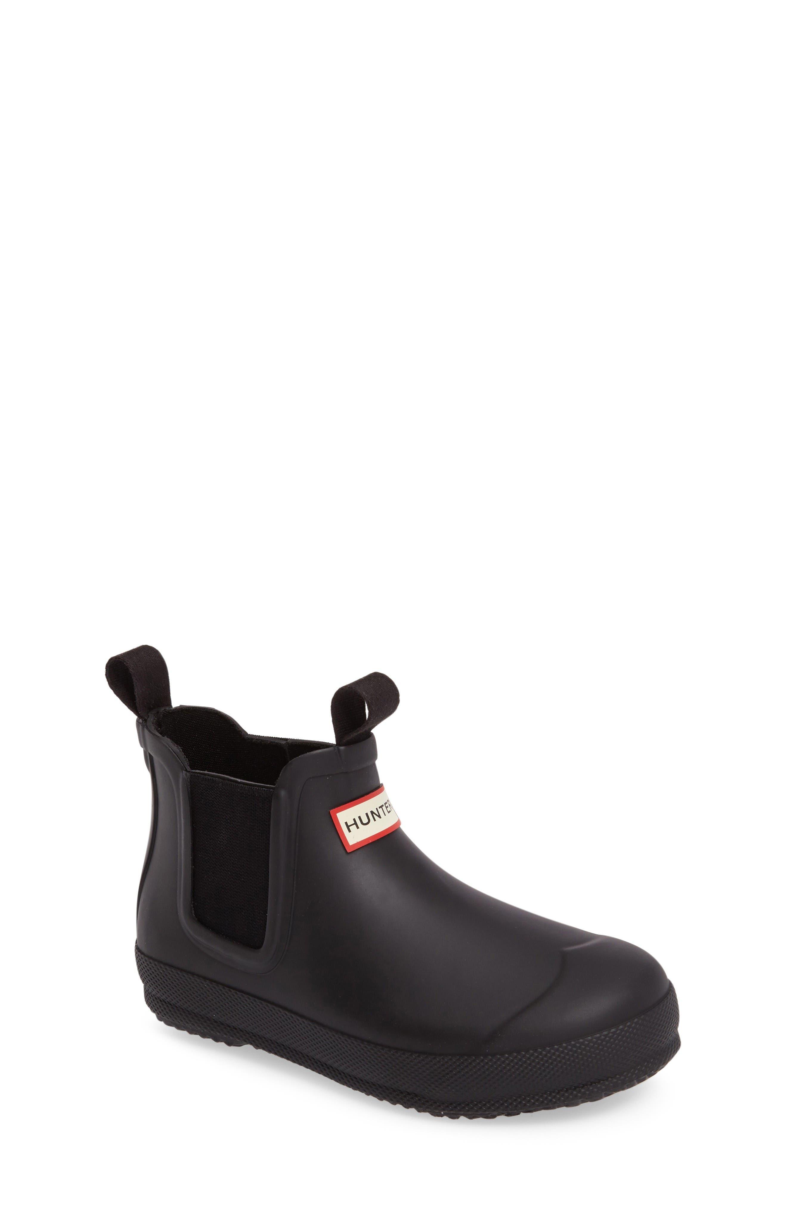 Alternate Image 1 Selected - Hunter Original Waterproof Chelsea Boot (Toddler)