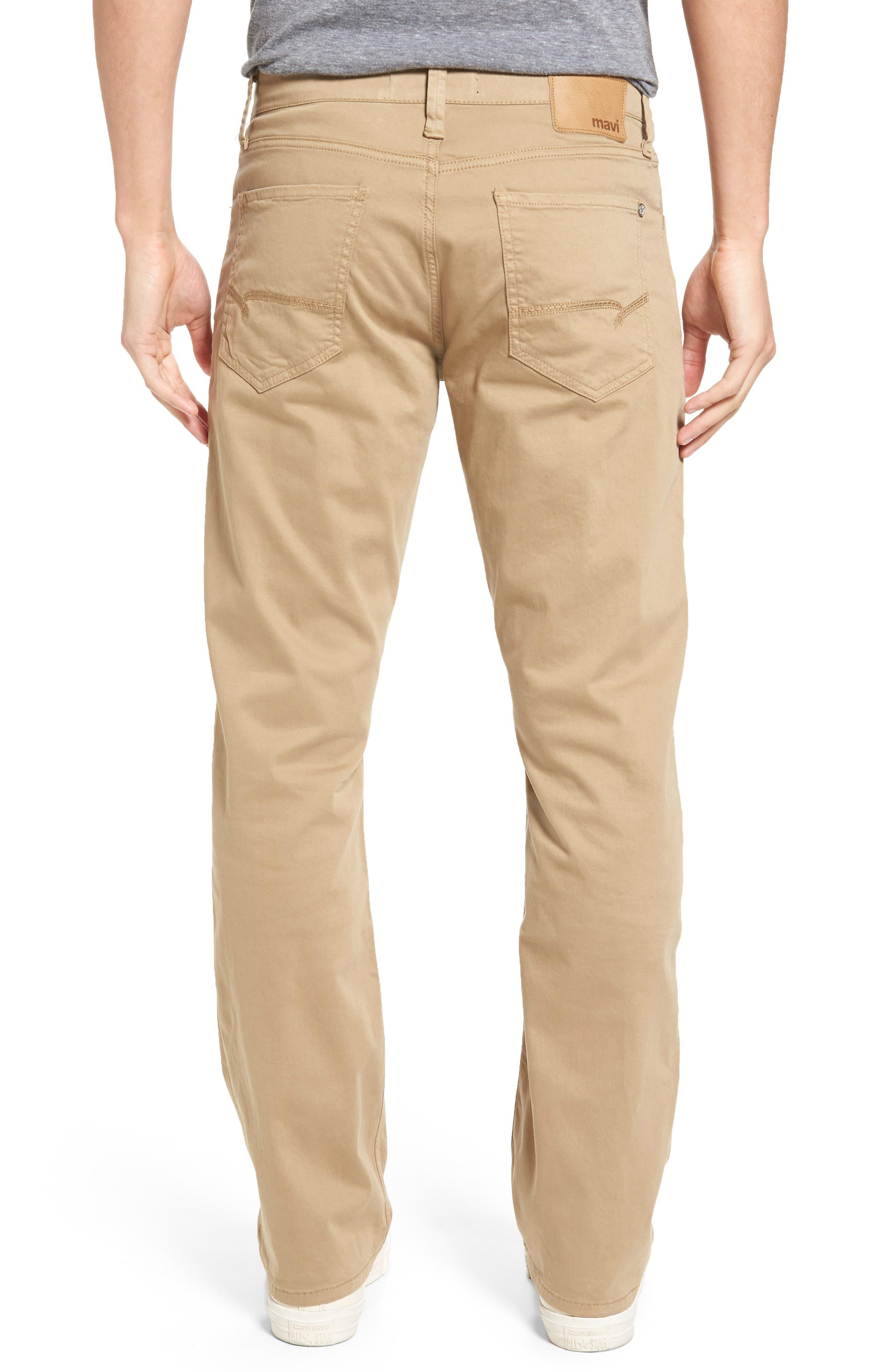 Matt Relaxed Fit Jeans,                             Alternate thumbnail 2, color,                             British Khaki Twill