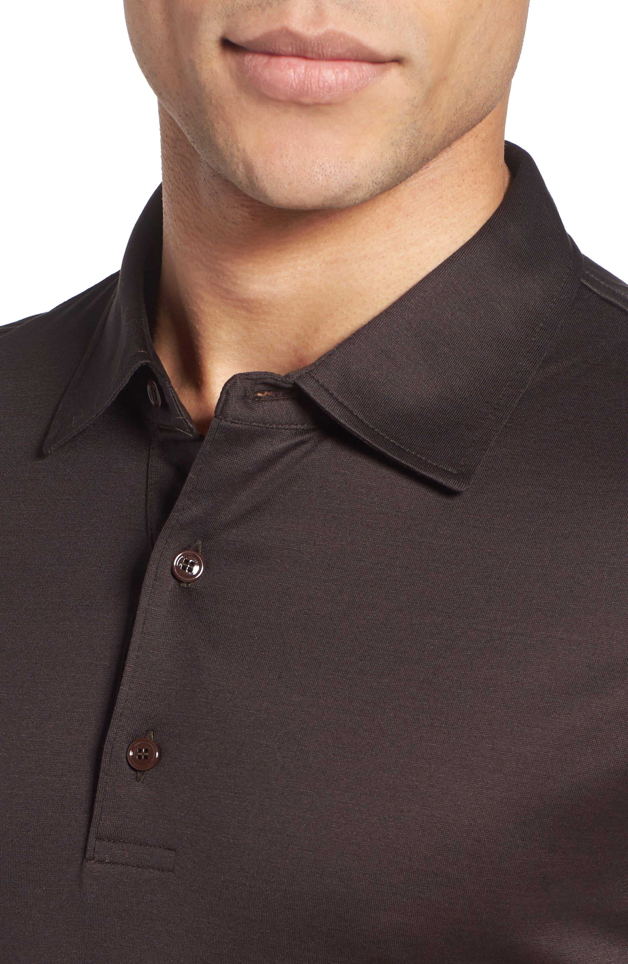 Alternate Image 4  - Pal Zileri Jersey Polo