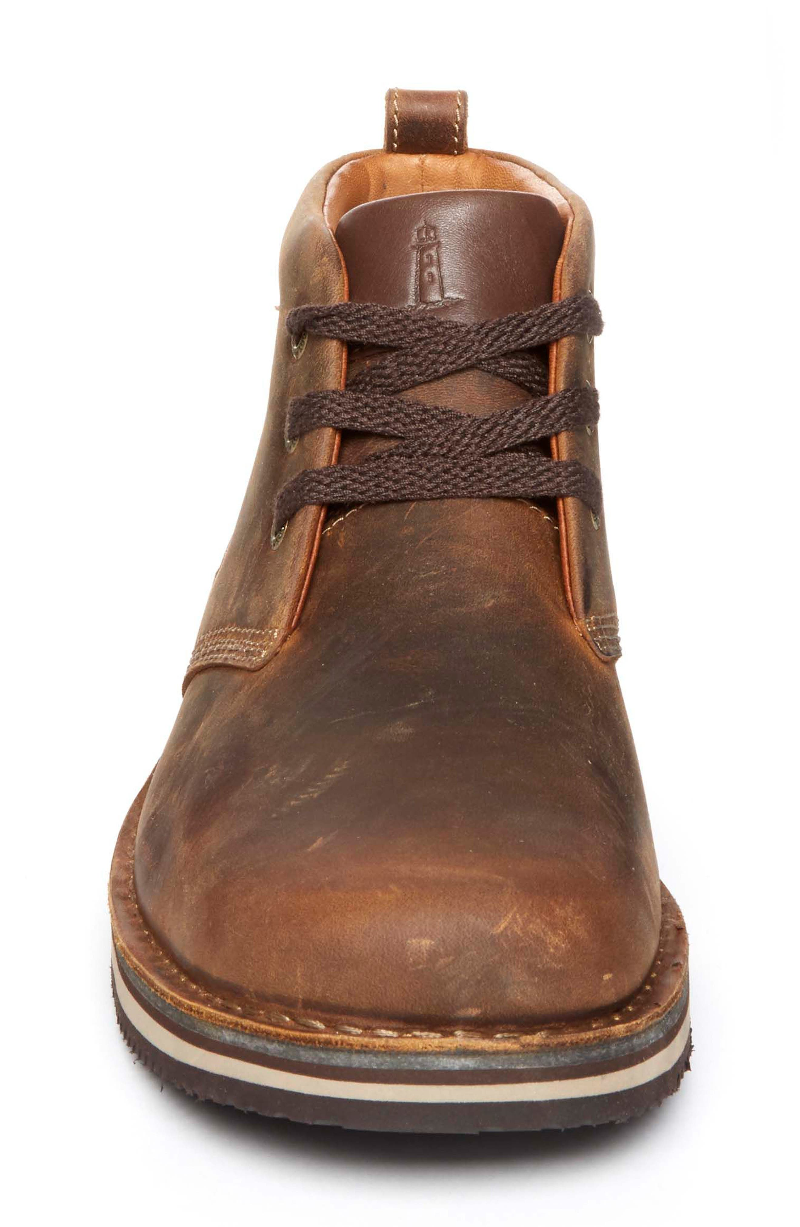 'Prestige Point' Chukka Boot,                             Alternate thumbnail 5, color,                             Beeswax Leather