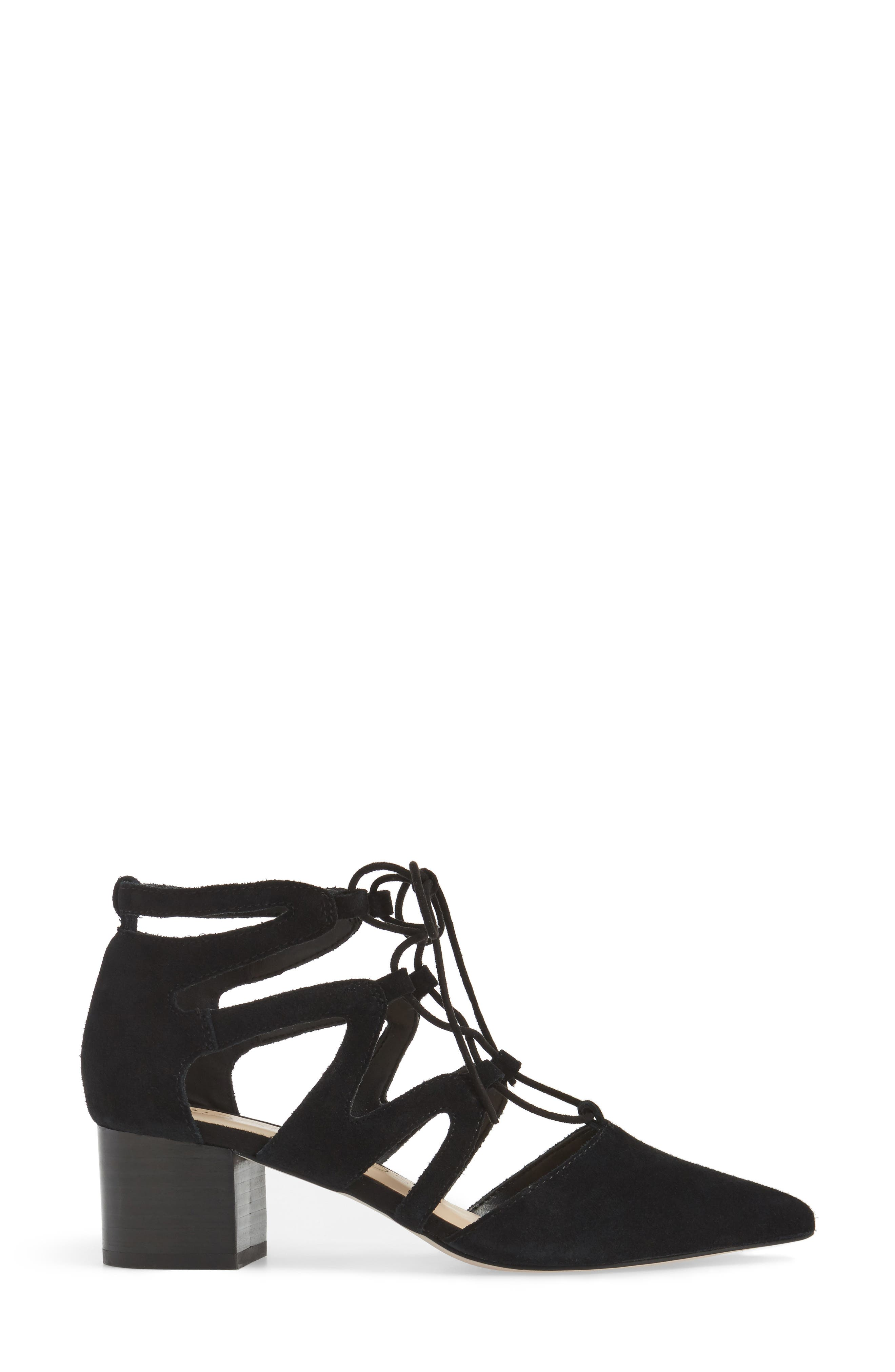 Alternate Image 3  - Sole Society Kitt Ghillie Lace Pump (Women)
