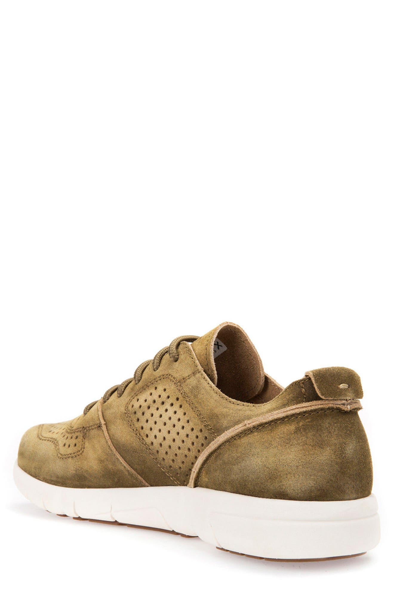 Brattley 2 Perforated Sneaker,                             Alternate thumbnail 2, color,                             Musk Suede