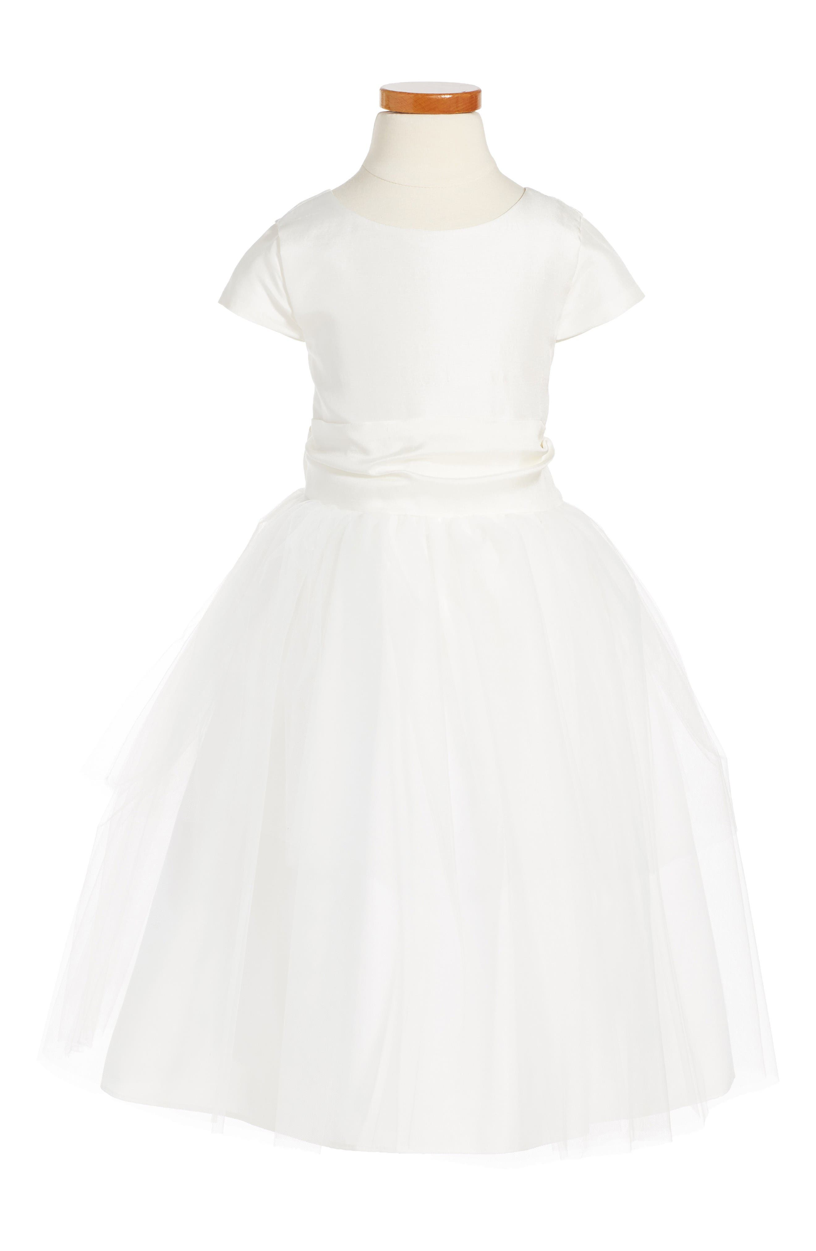 Us Angels Cap Sleeve Dress (Toddler Girls & Little Girls)