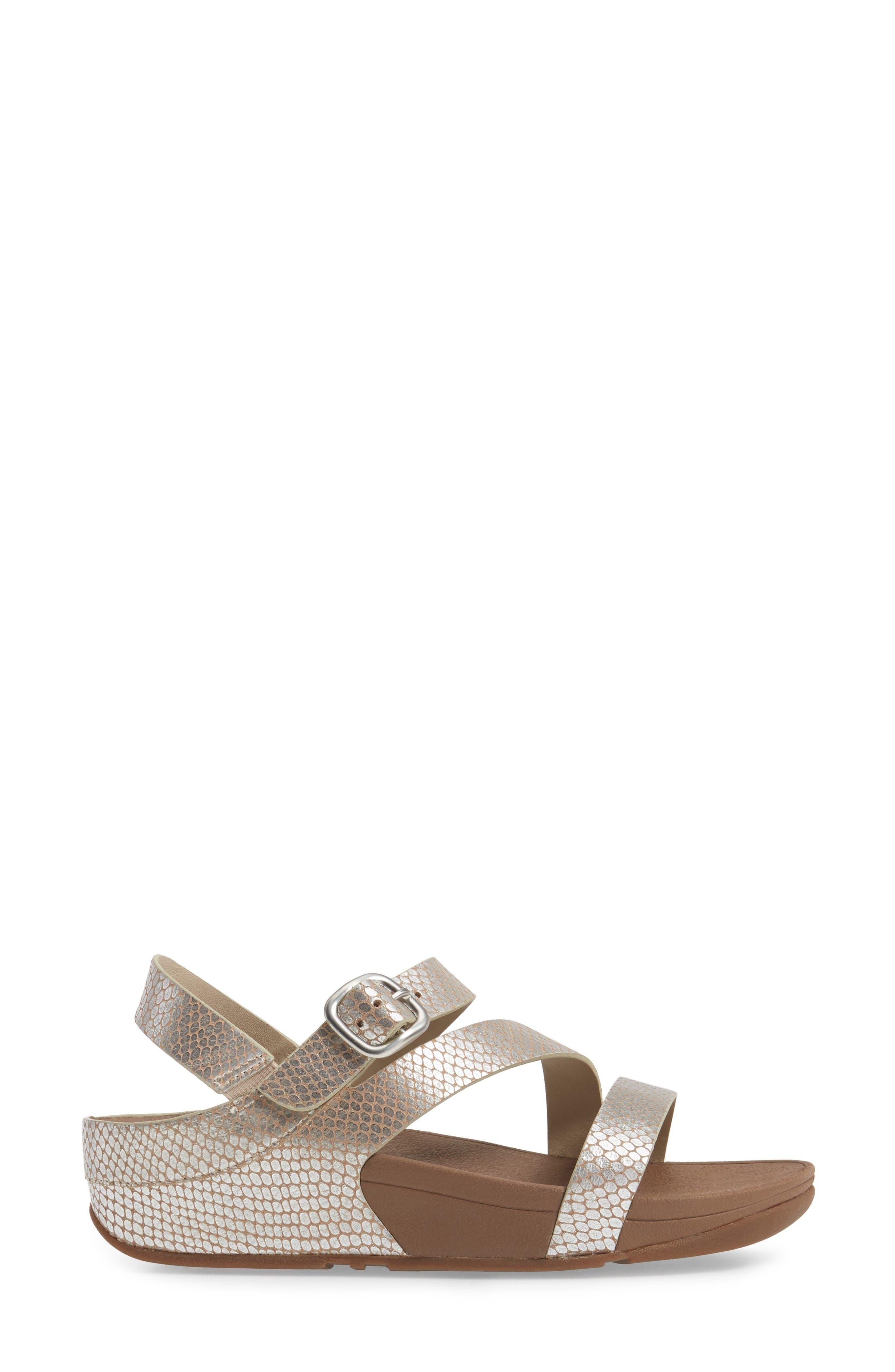Alternate Image 3  - FitFlop The Skinny™ Z-Strap Sandal (Women)