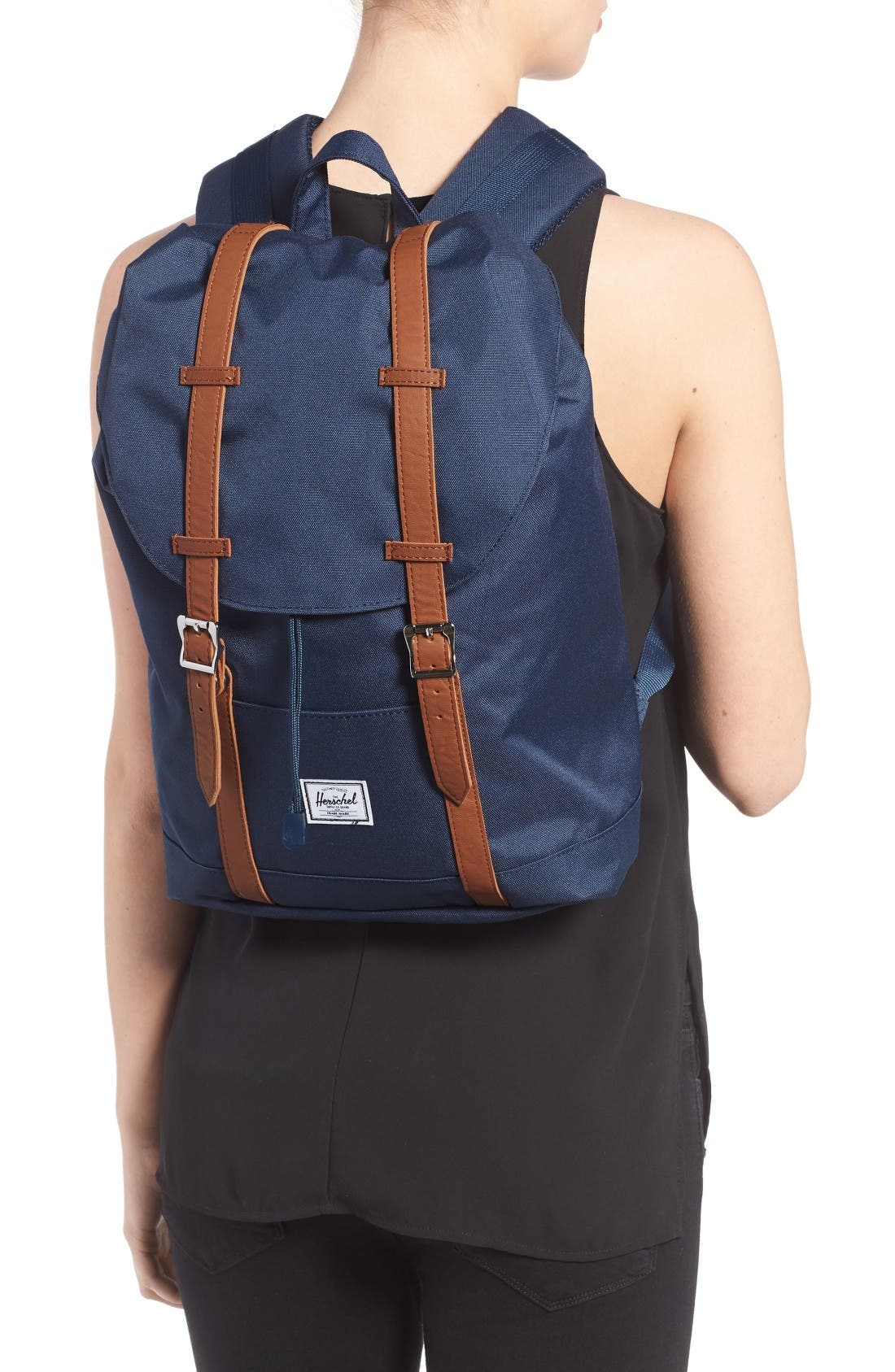 Retreat Mid Volume Backpack,                             Alternate thumbnail 2, color,                             Navy