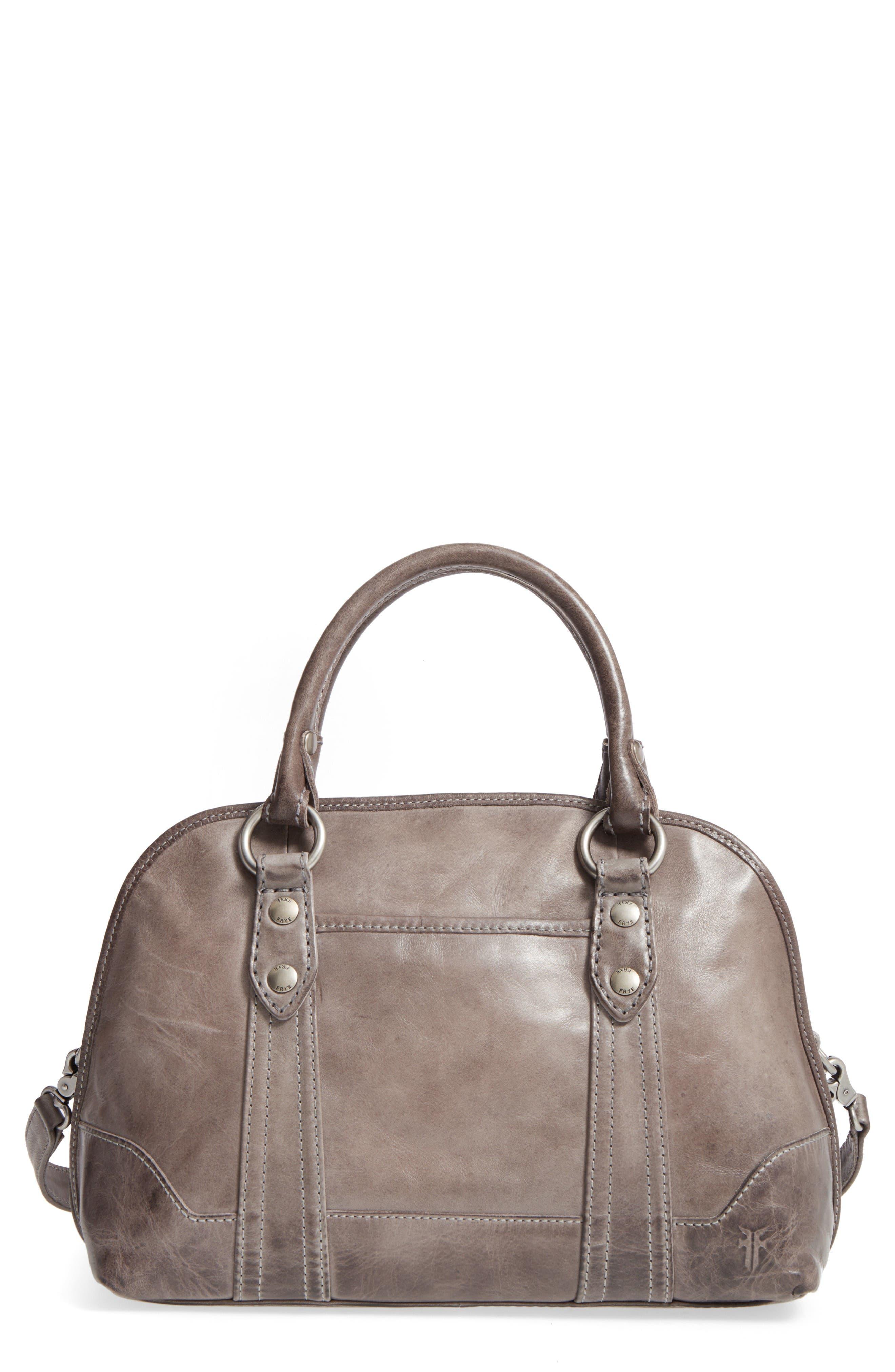 Alternate Image 1 Selected - Frye 'Melissa' Domed Leather Satchel