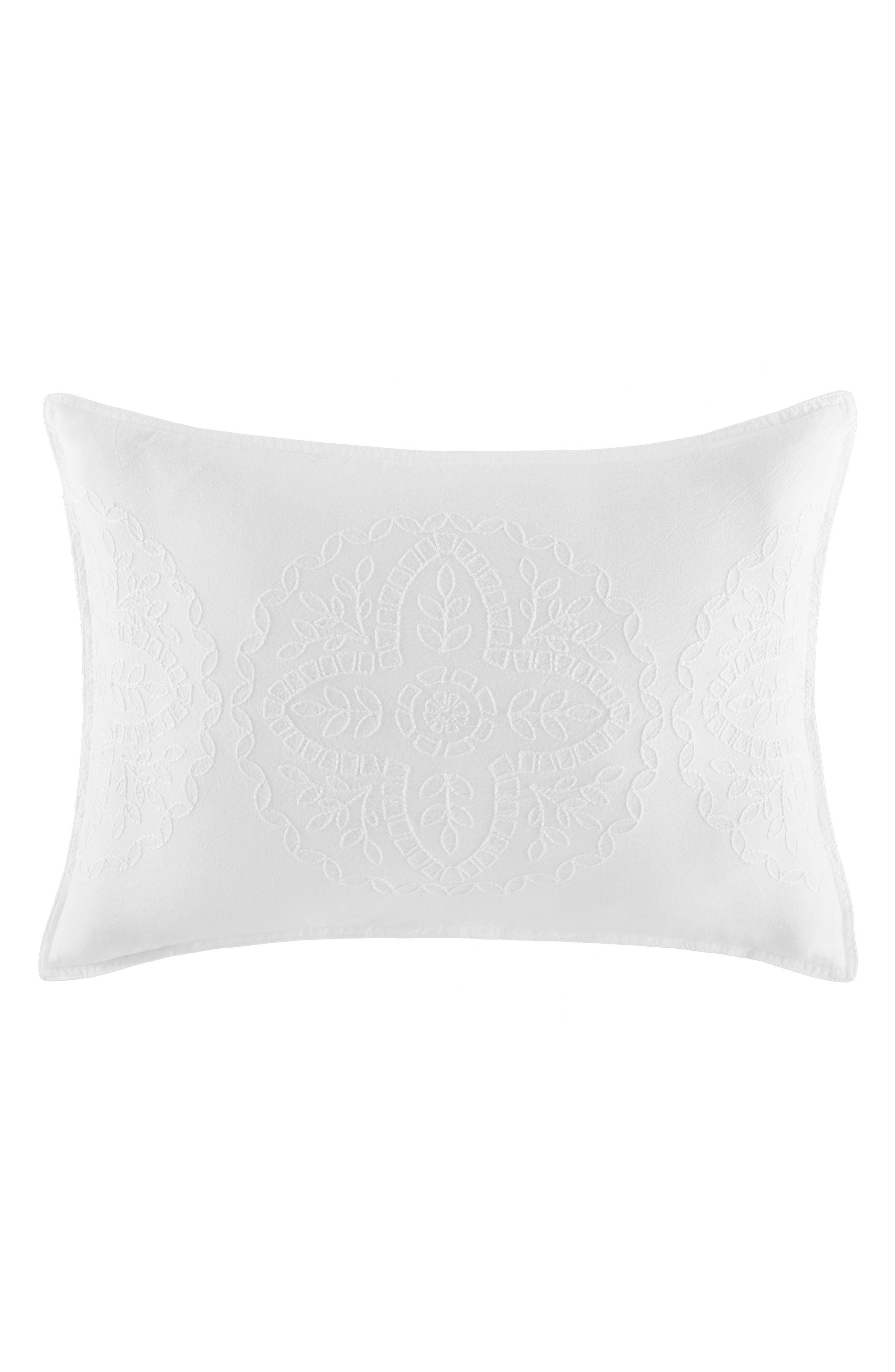 Alternate Image 1 Selected - Tommy Hilfiger Floral Medallion Accent Pillow