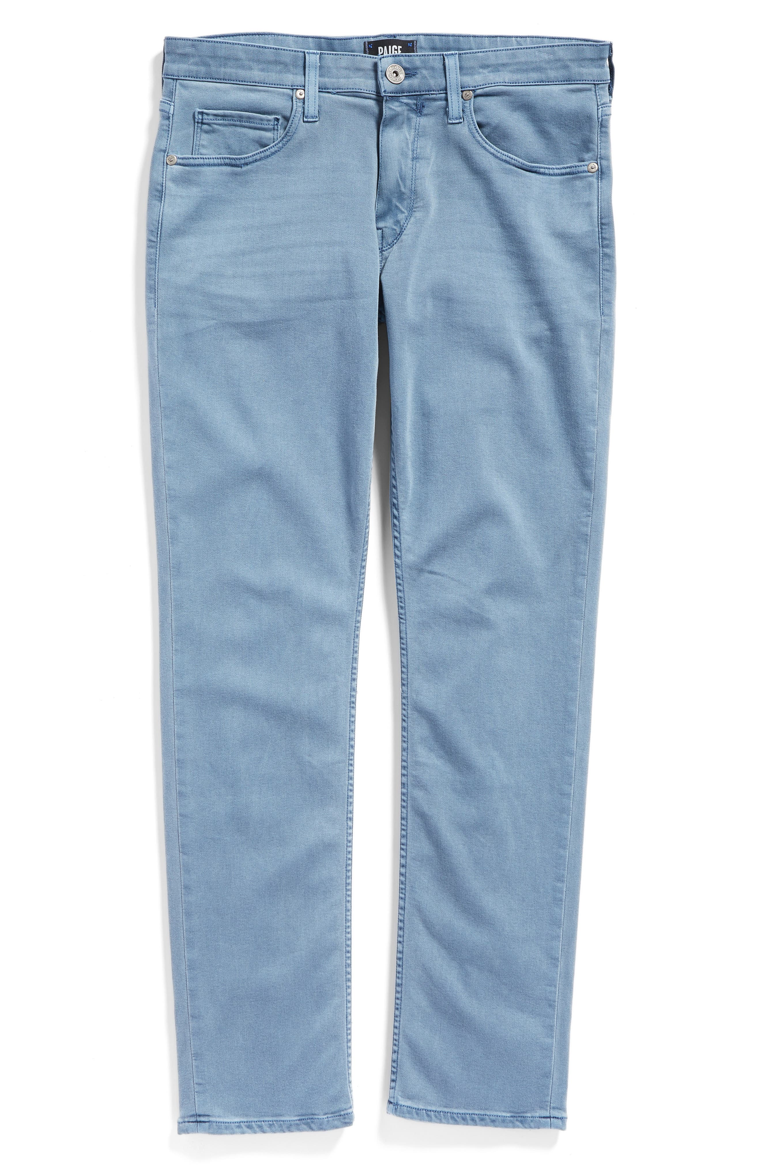 Transcend - Lennox Slim Fit Jeans,                             Alternate thumbnail 7, color,                             Seascape