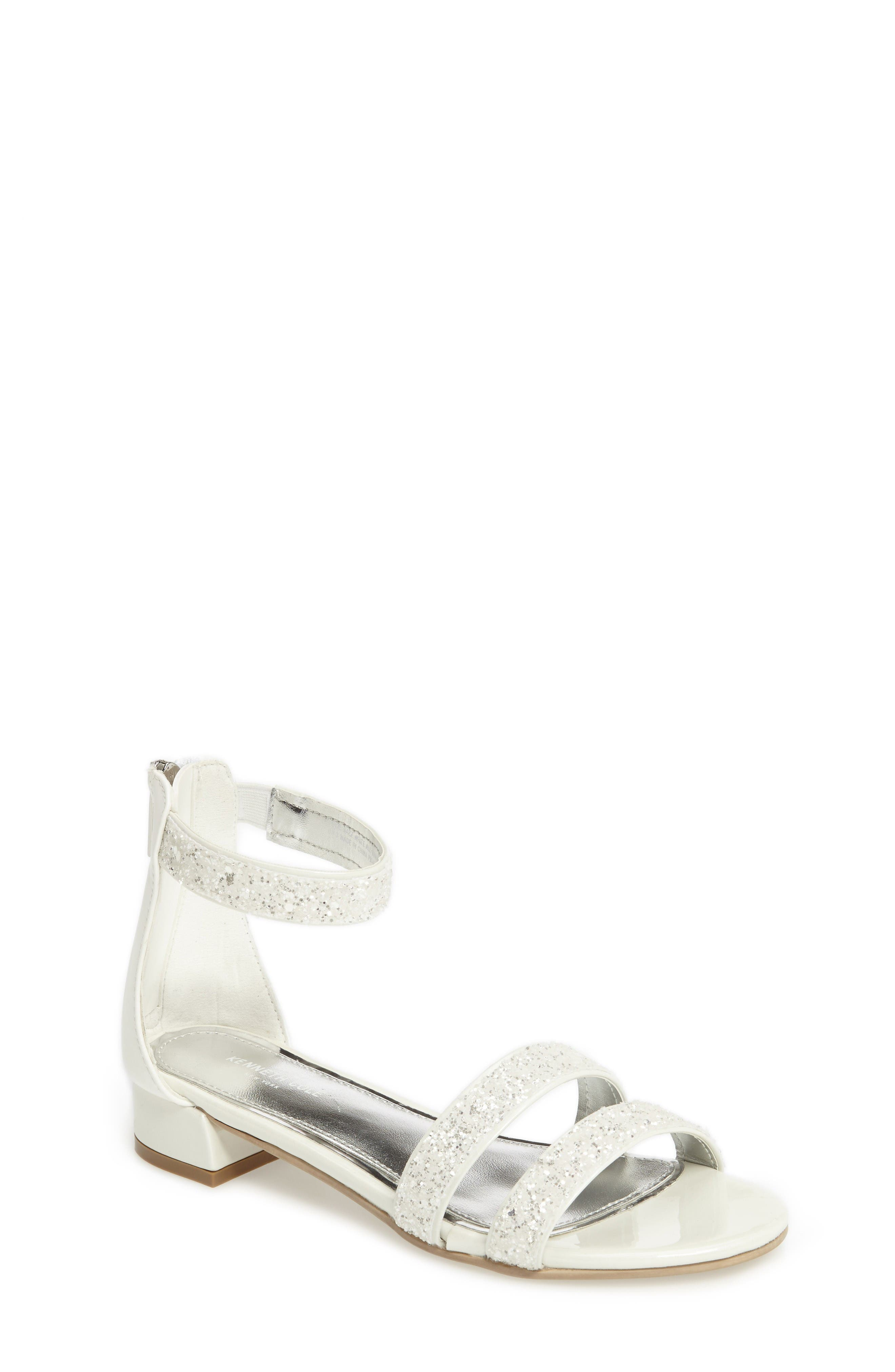 Kenneth Cole New York Julie Jazz Embellished Sandal (Toddler, Little Kid & Big Kid)
