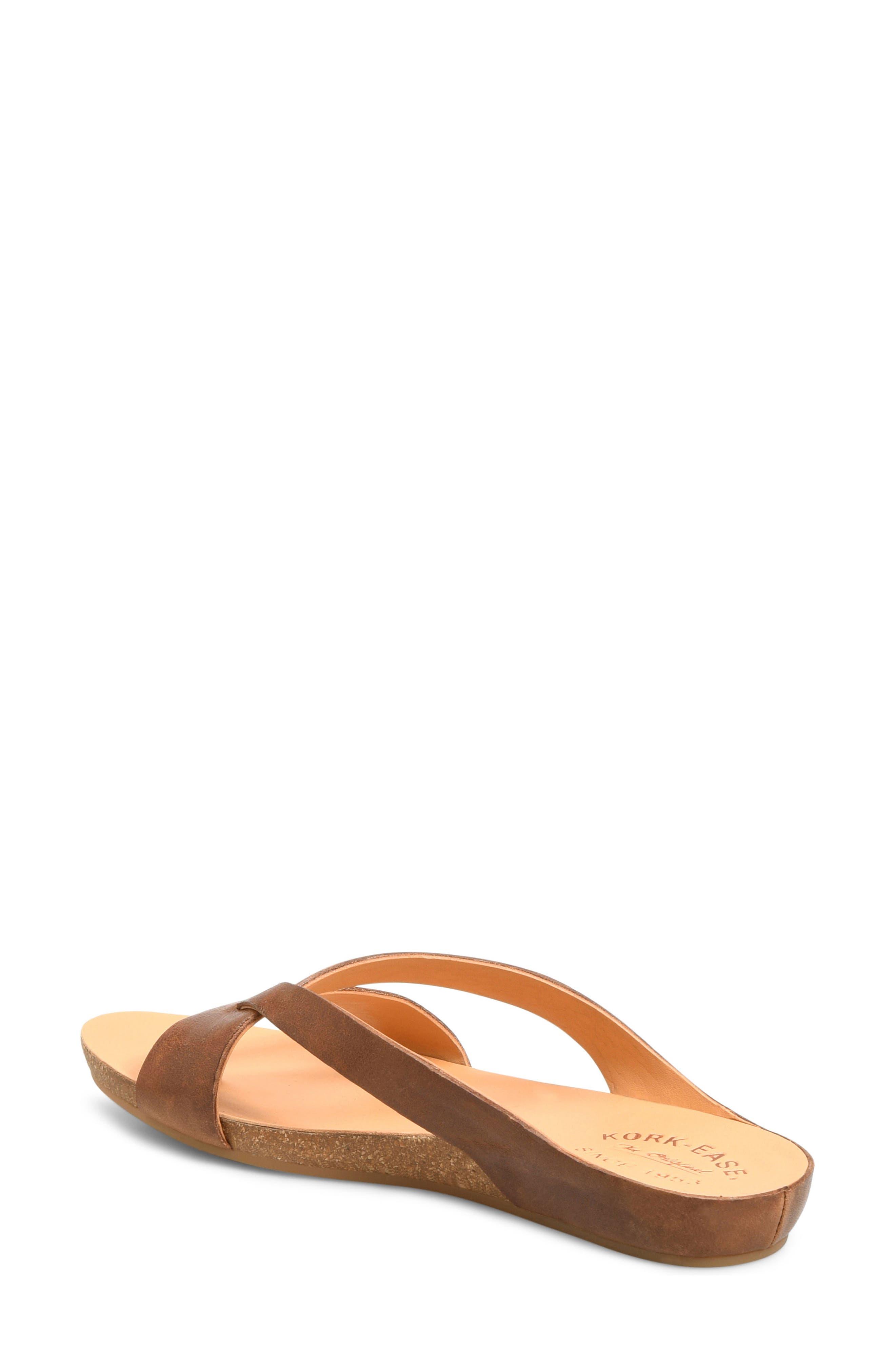 Devoe Sandal,                             Alternate thumbnail 2, color,                             Brown Leather