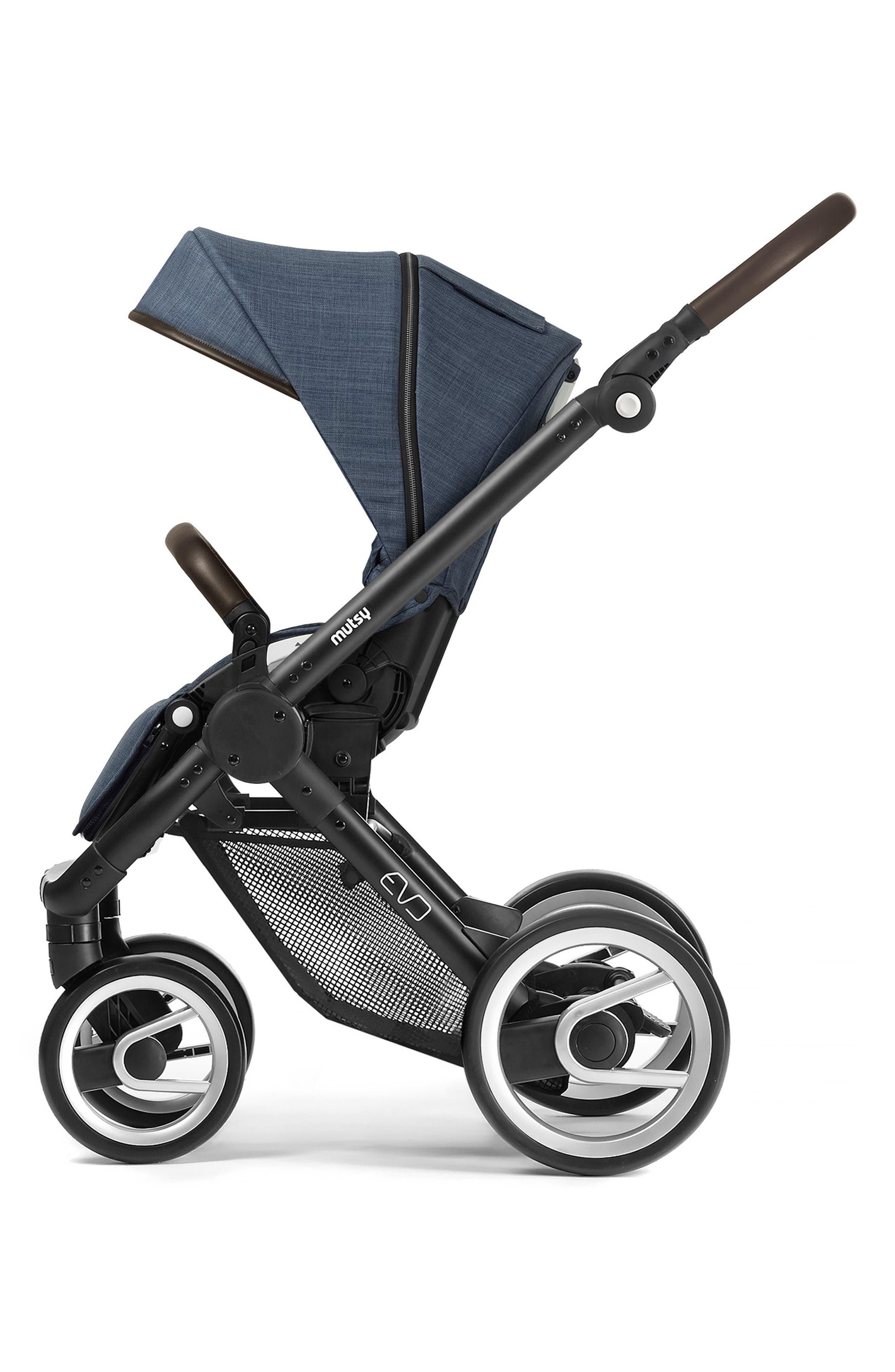 Evo - Farmer Earth Stroller,                             Alternate thumbnail 2, color,                             Black/ Blue