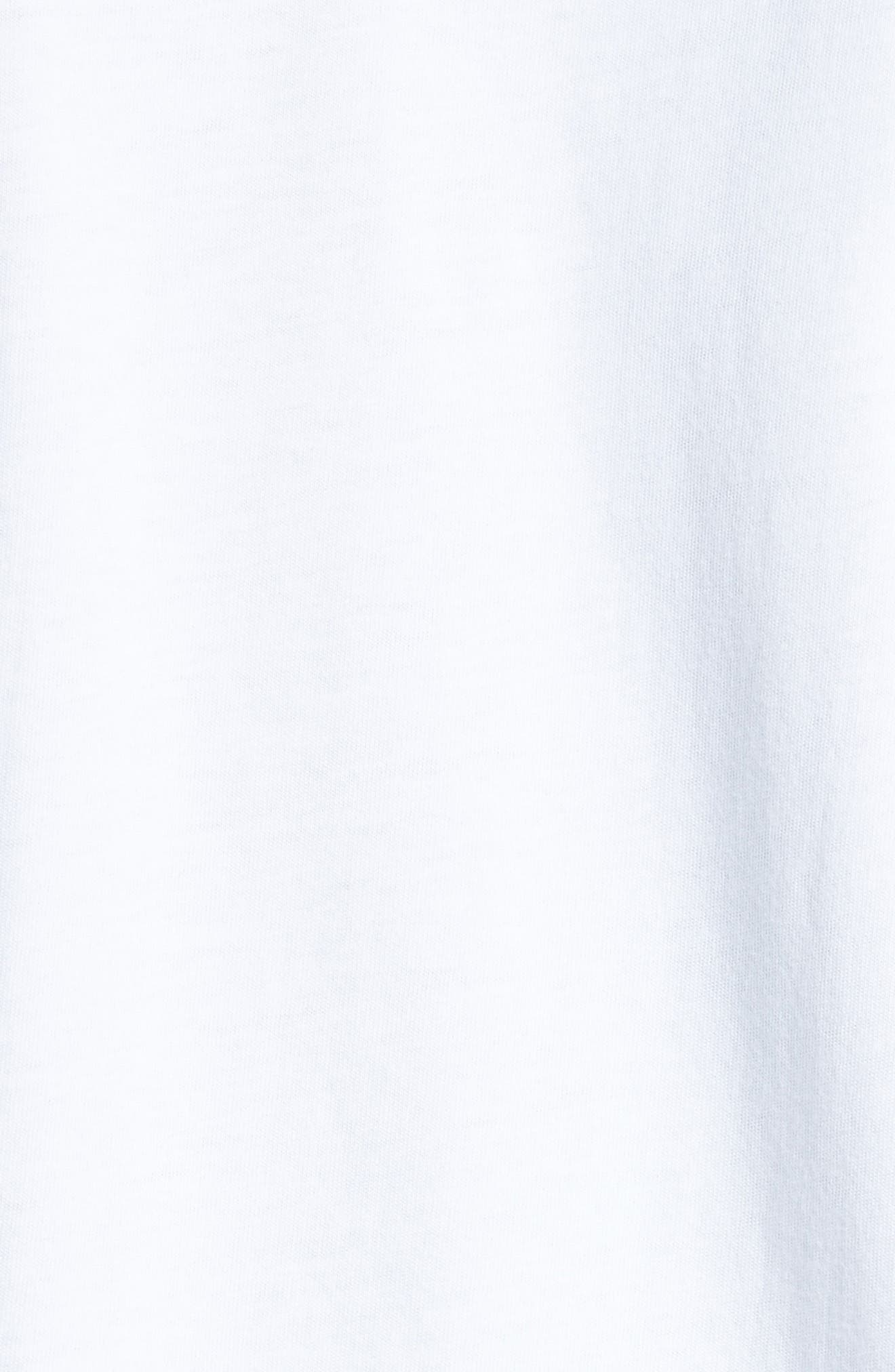 T-Shirt,                             Alternate thumbnail 5, color,                             White