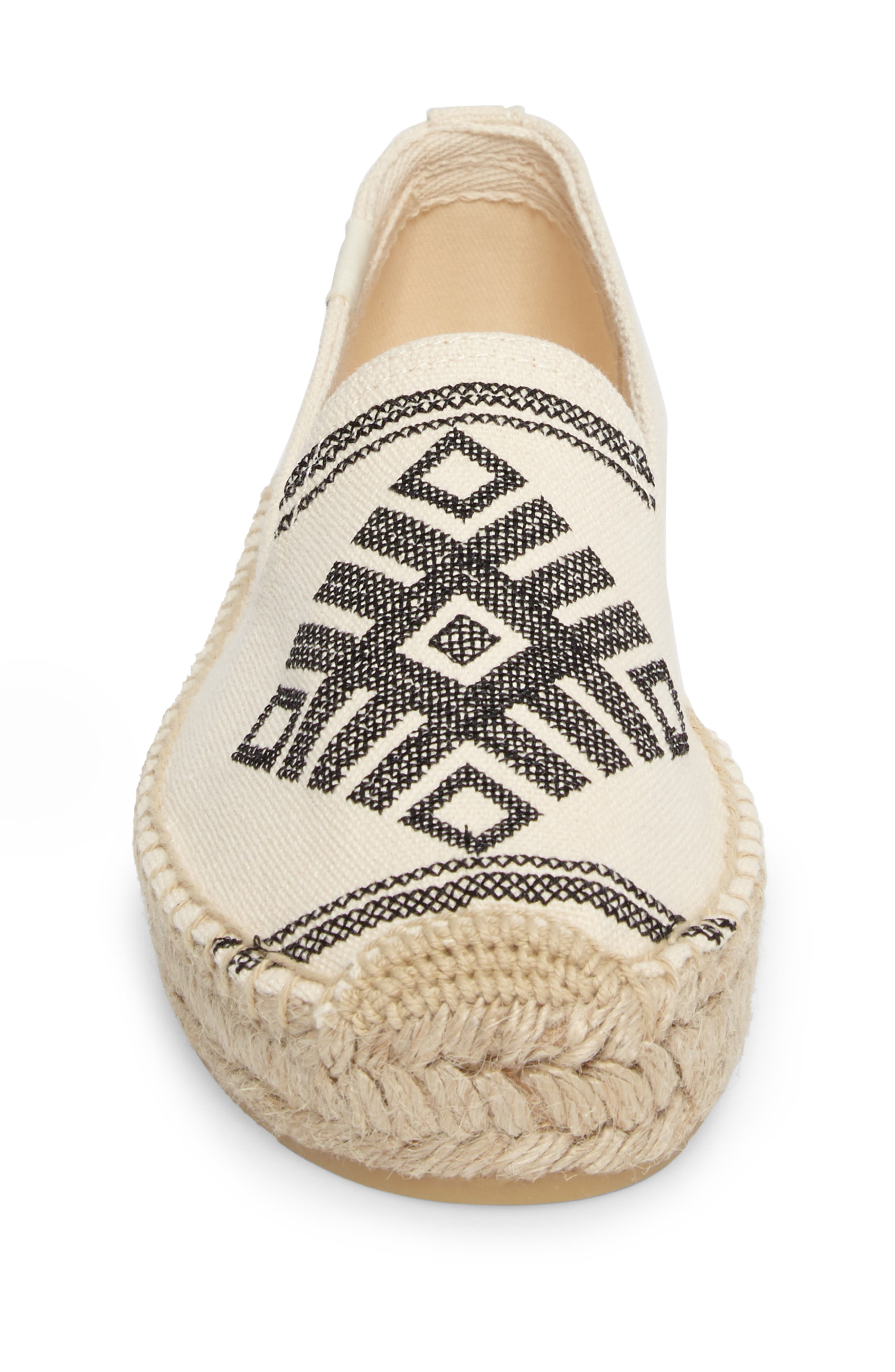 Yucatan Smoking Slipper,                             Alternate thumbnail 4, color,                             Natural Canvas