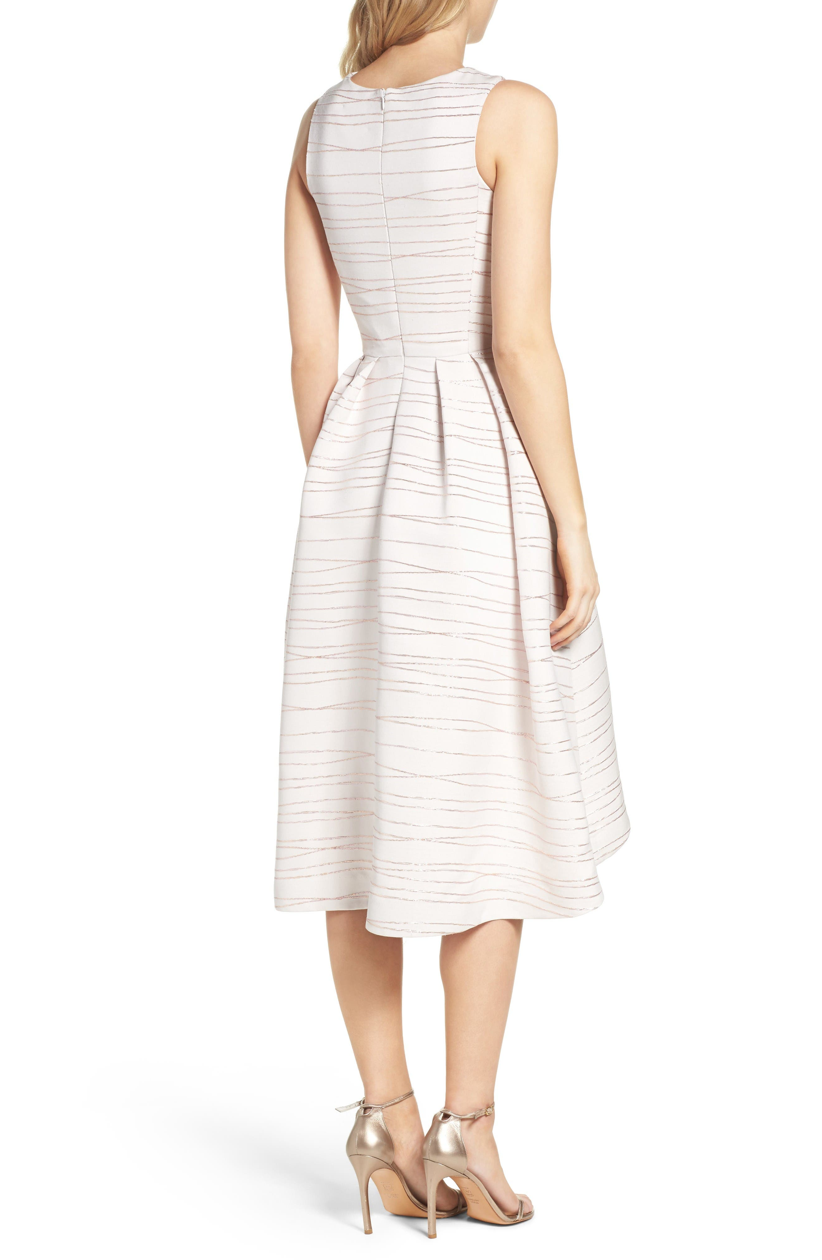 Alternate Image 2  - Shoshanna Coraline Fit & Flare Dress