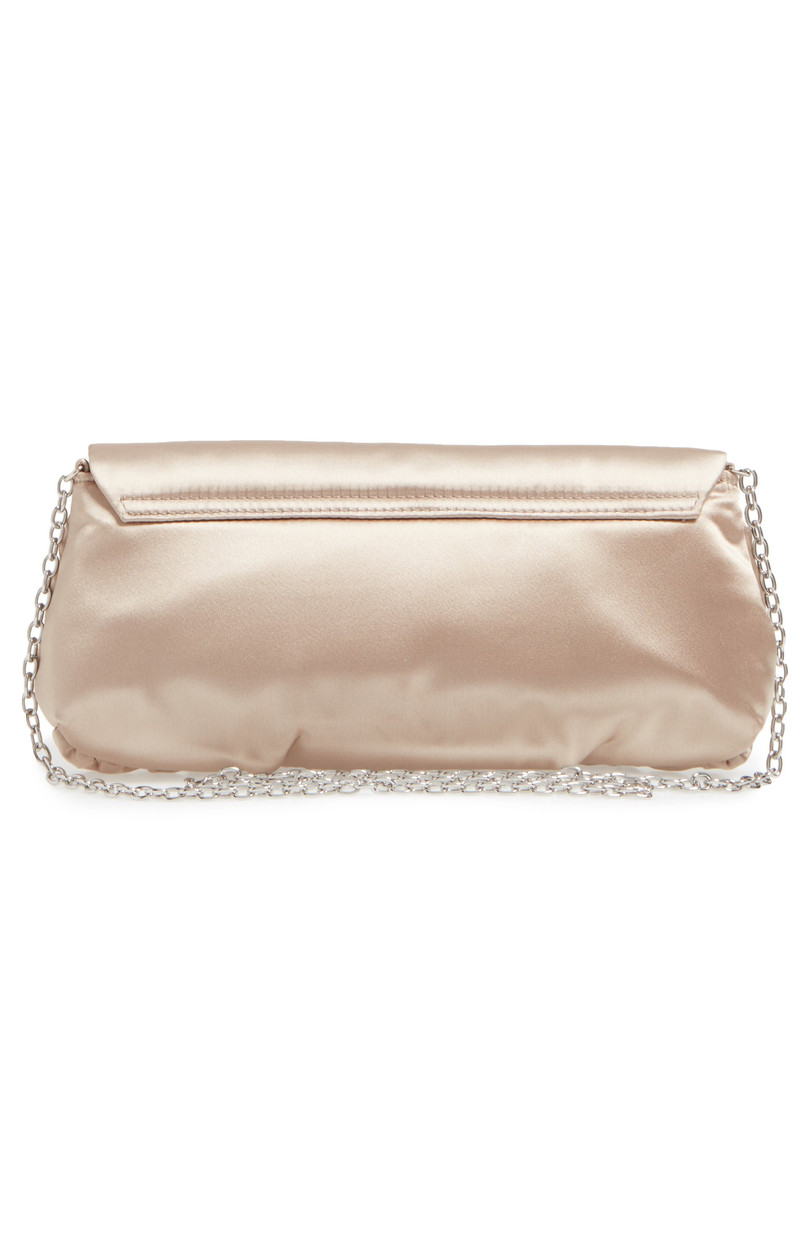 Caracas Crystal Embellished Clutch,                             Alternate thumbnail 2, color,                             Stone