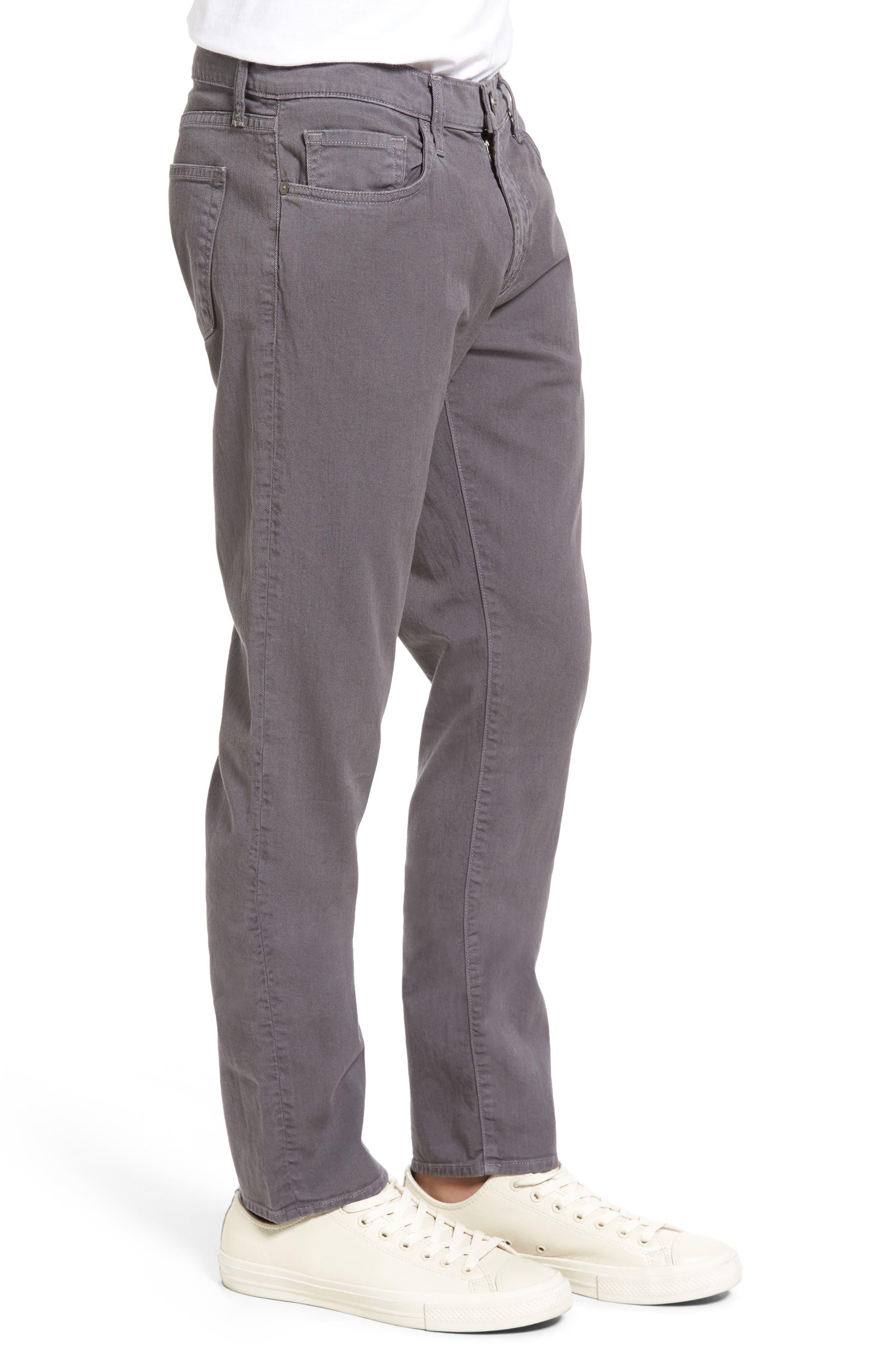 Tyler Slim Fit Jeans,                             Alternate thumbnail 3, color,                             Iron Gate