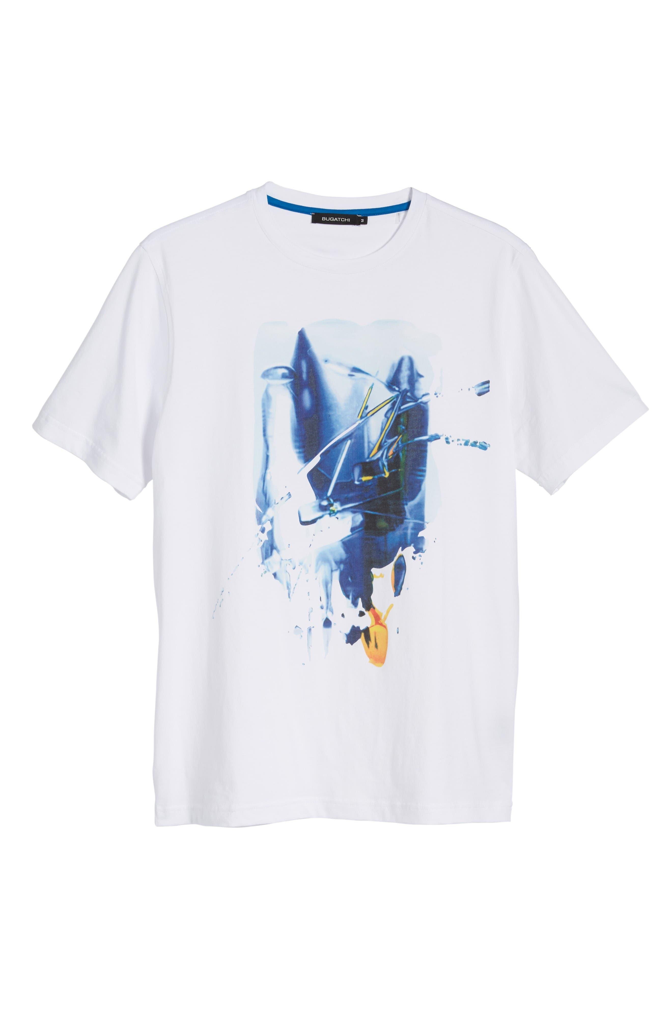 Alternate Image 6  - Bugatchi Graphic T-Shirt