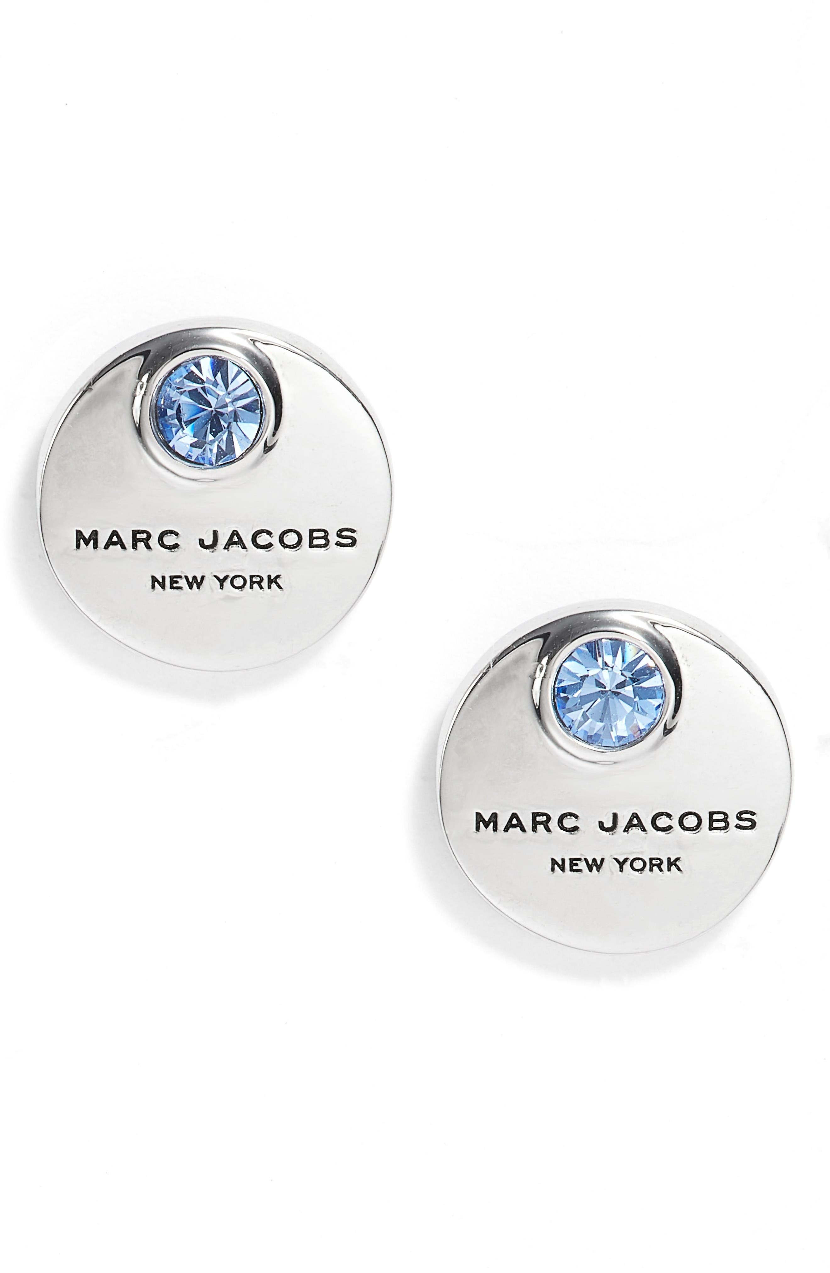 Alternate Image 1 Selected - MARC JACOBS MJ Coin Stud Earrings
