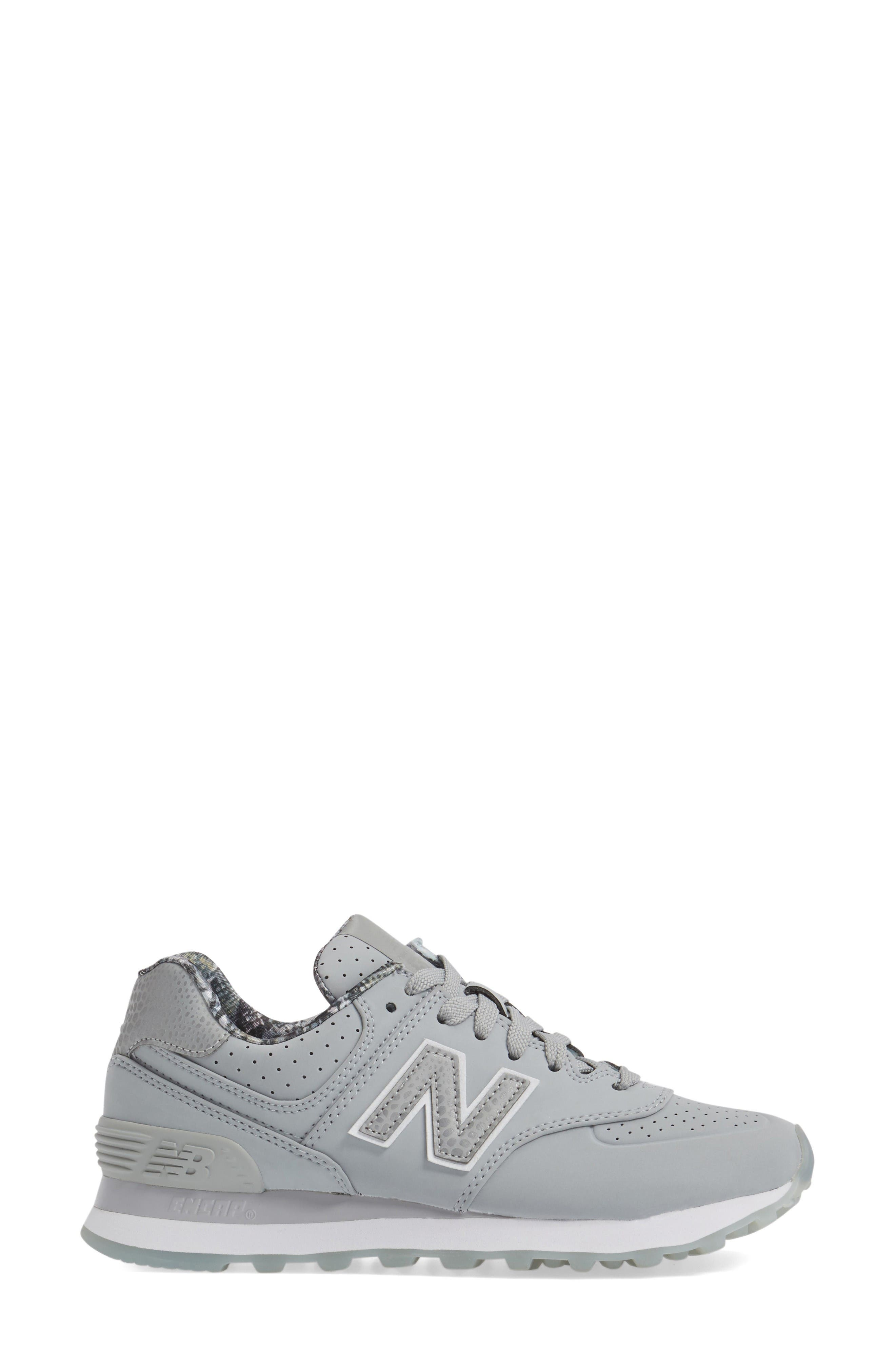 Alternate Image 3  - New Balance 574 Luxe Rep Sneaker (Women)