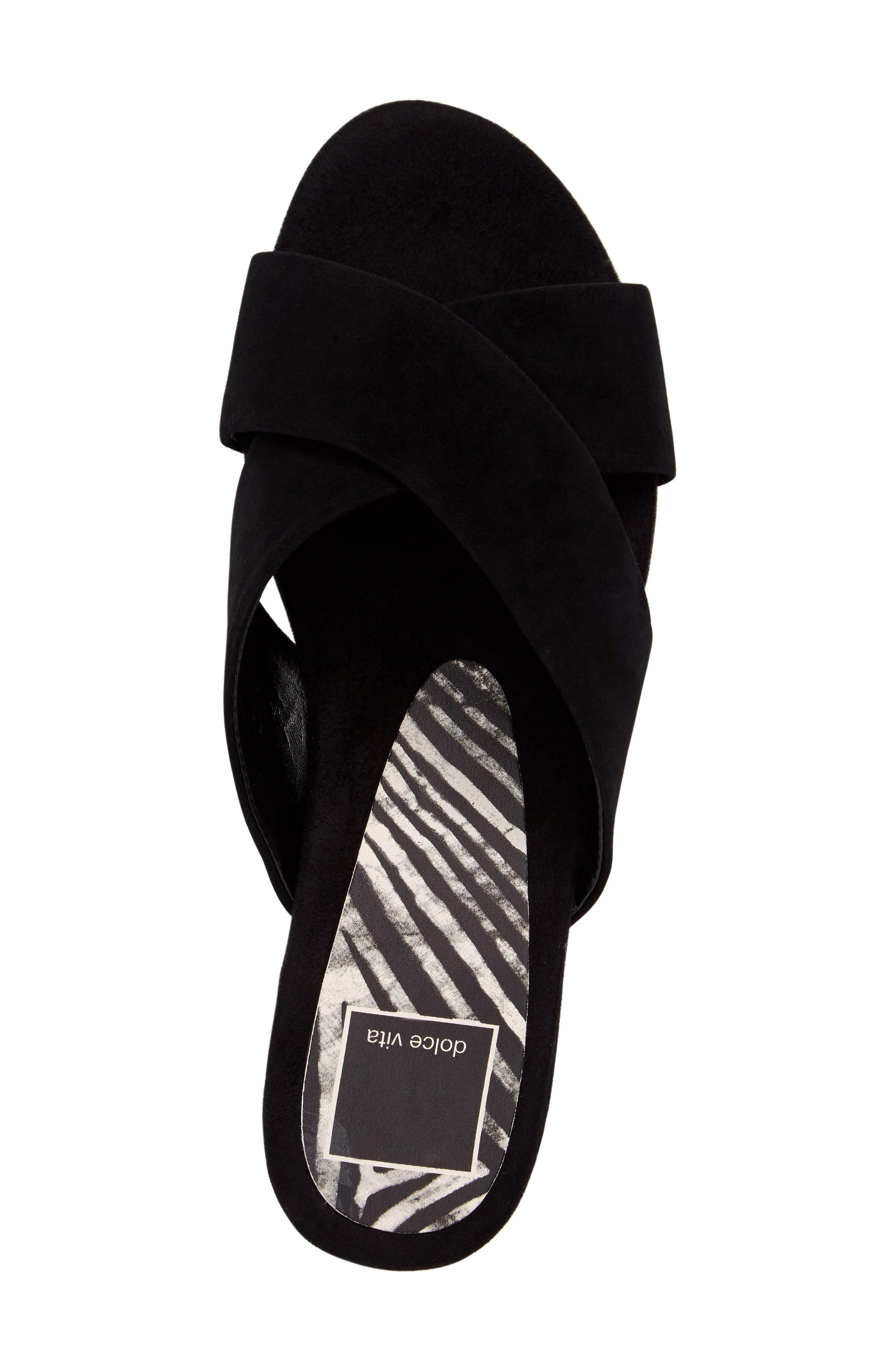 Alternate Image 5  - Dolce Vita Cross Strap Slide Sandal (Women)