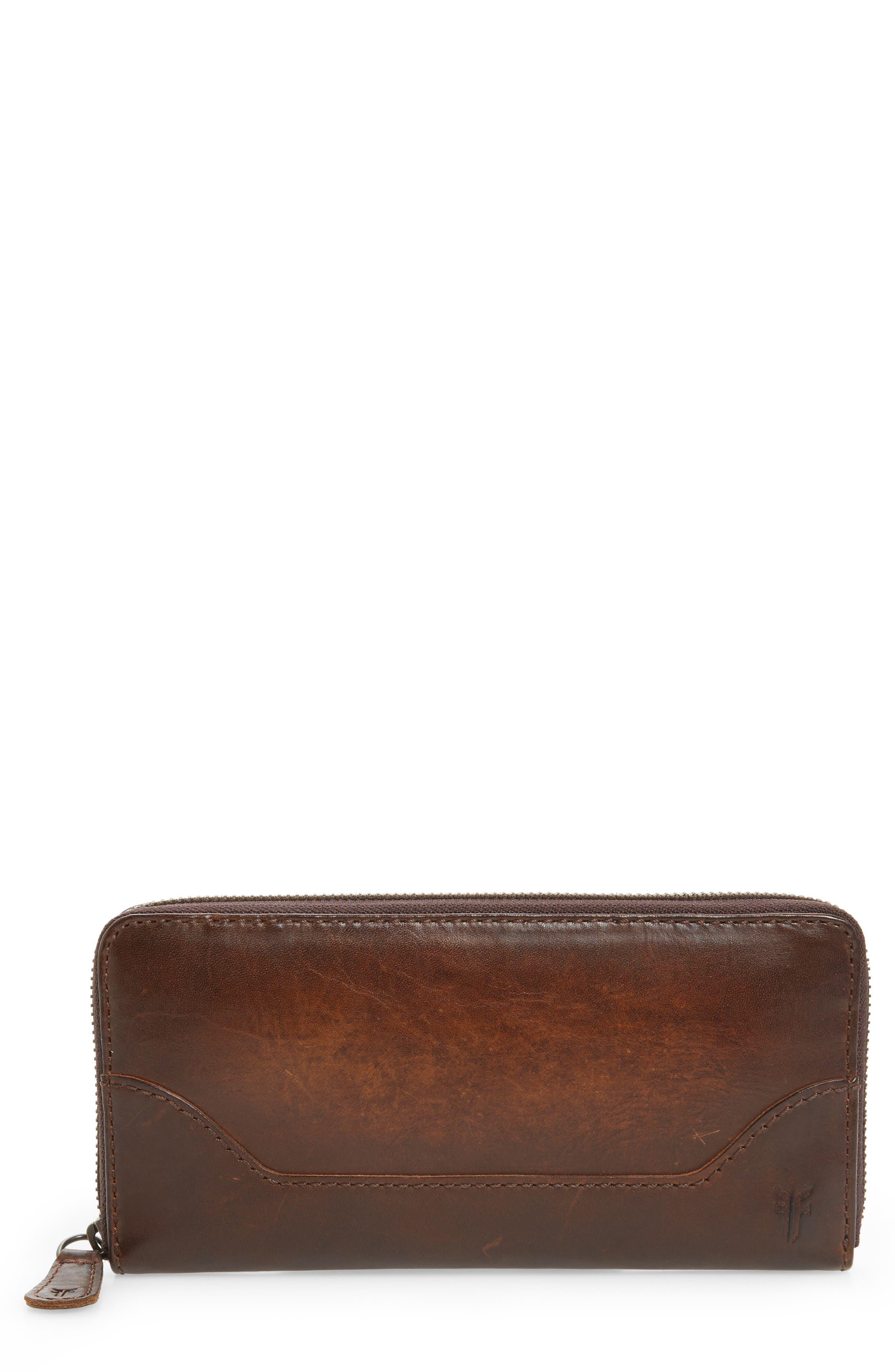 Main Image - Frye Melissa Leather Wallet