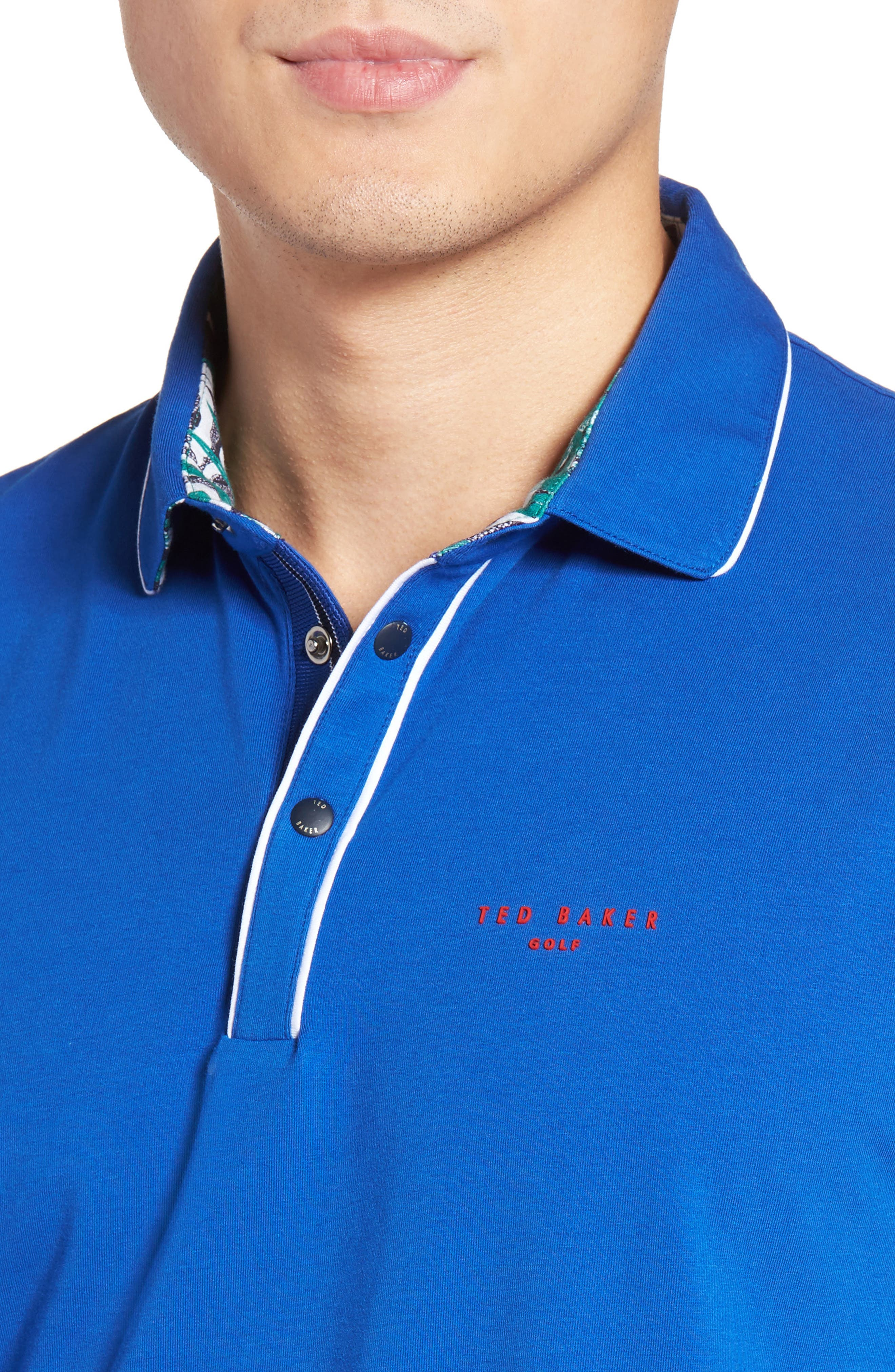 Alternate Image 4  - Ted Baker London Playgo Piped Trim Golf Polo