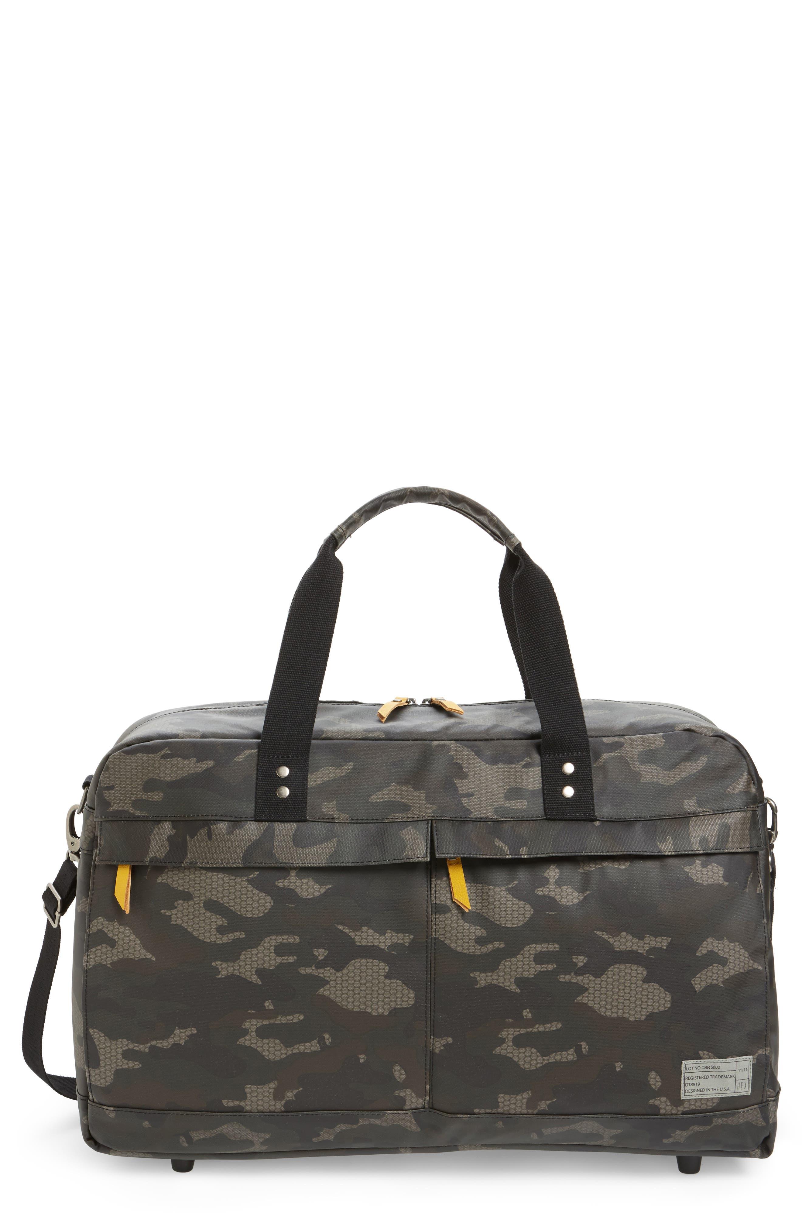 Calibre Duffel Bag,                             Main thumbnail 1, color,                             Camo