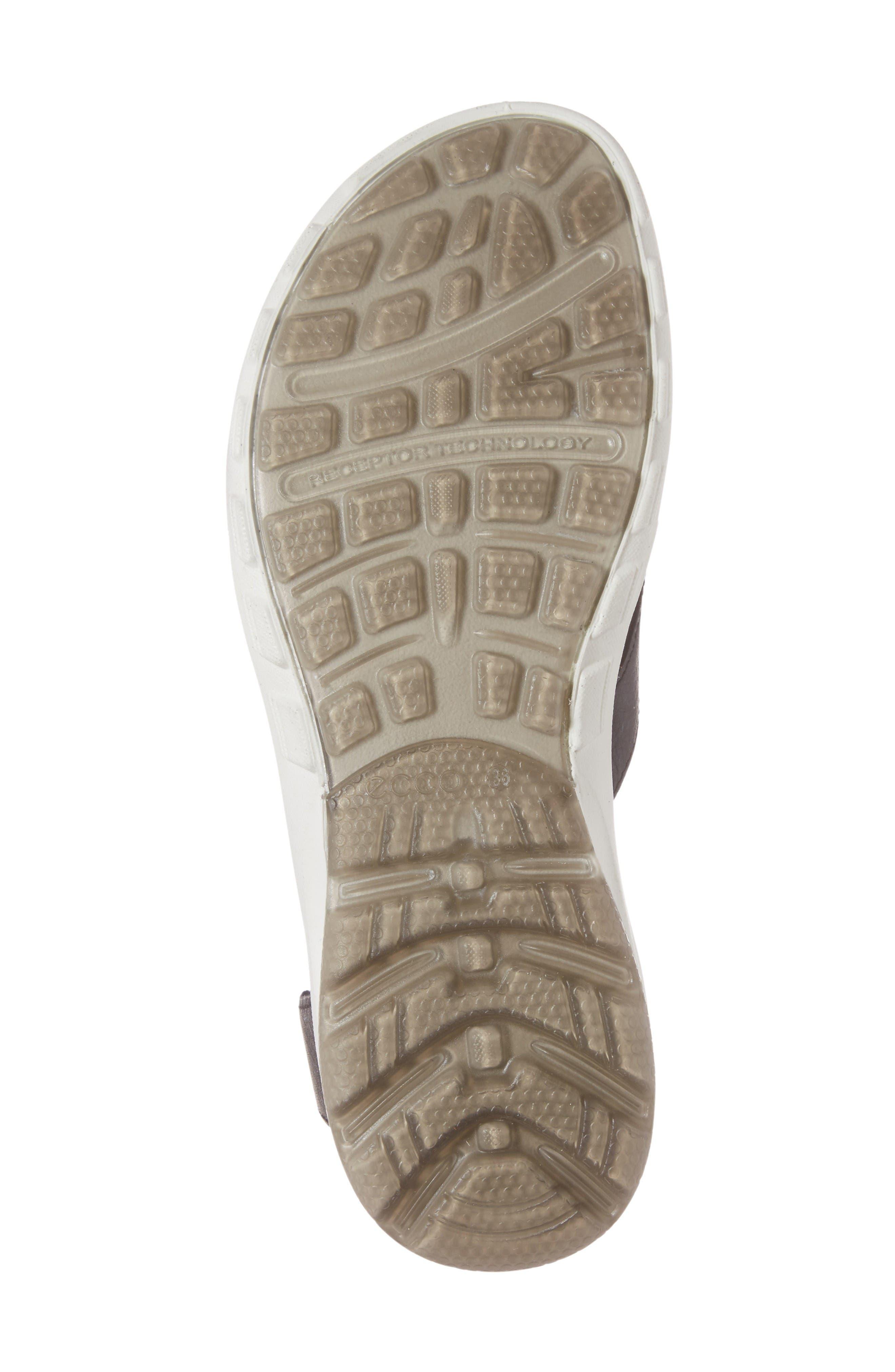 Cruise Sport Sandal,                             Alternate thumbnail 6, color,                             Black Leather